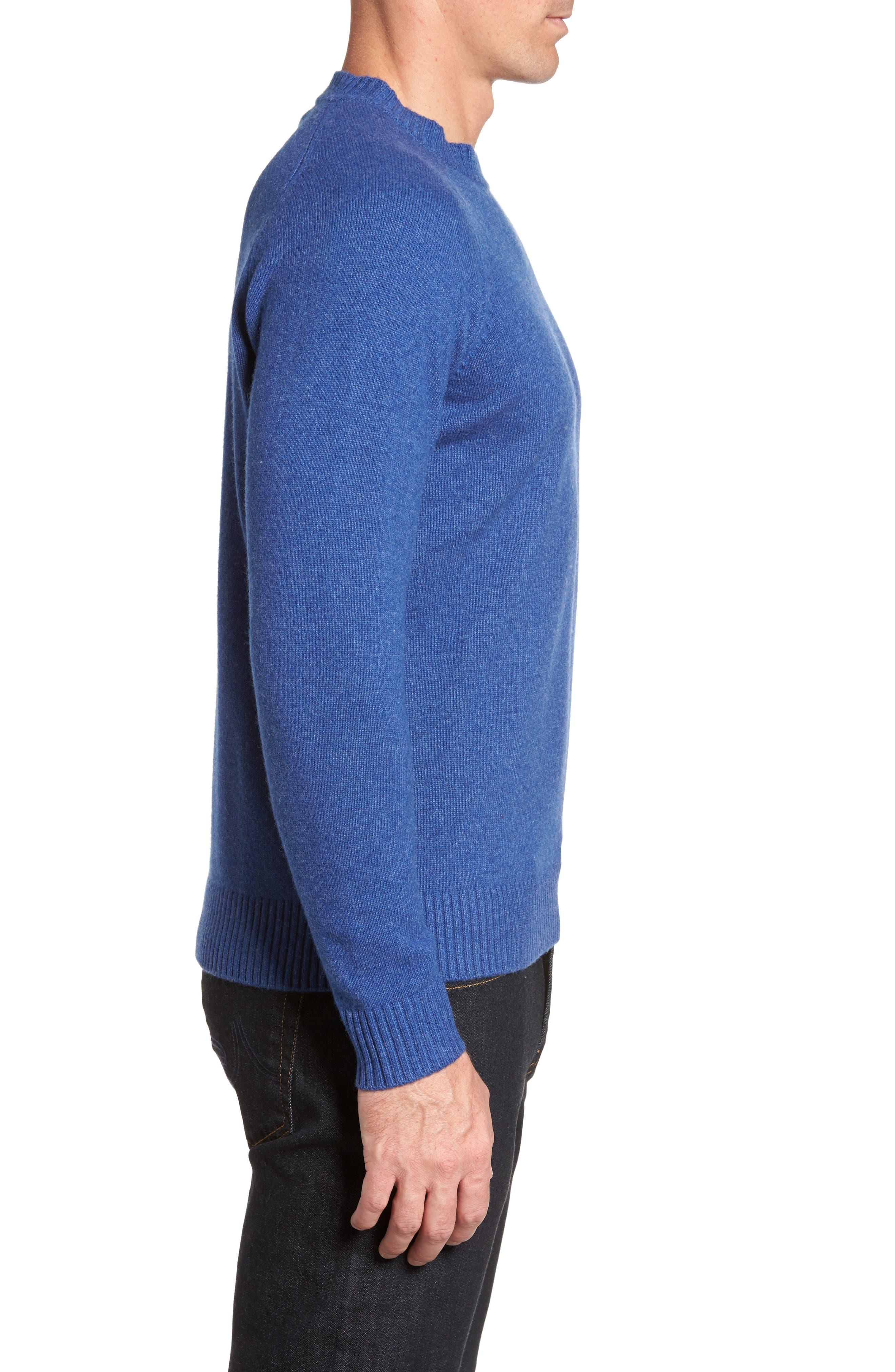 Crown Vintage Crewneck Sweatshirt,                             Alternate thumbnail 6, color,