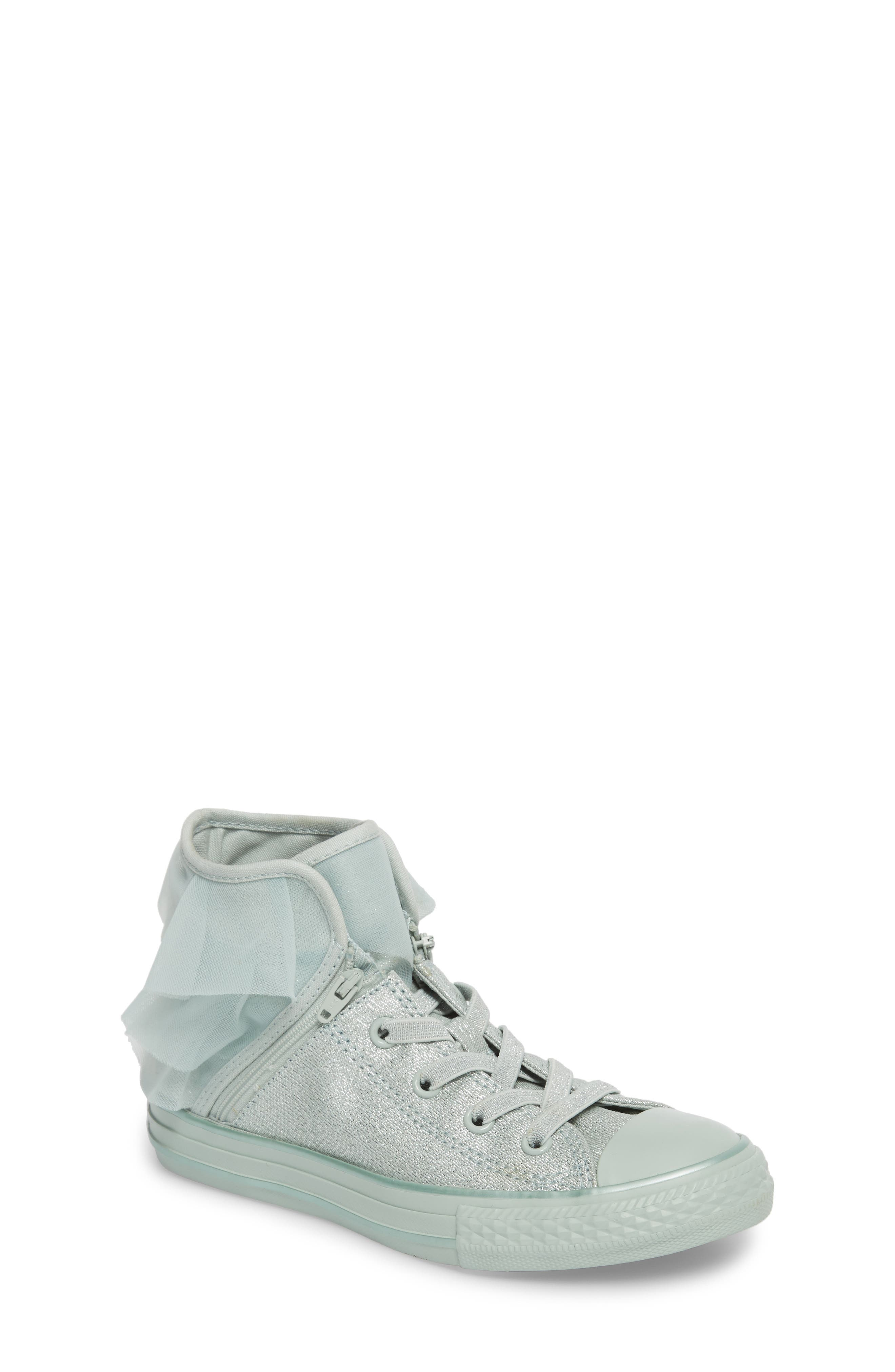 All Star<sup>®</sup> Mono Shine Party High Top Sneaker,                         Main,                         color,