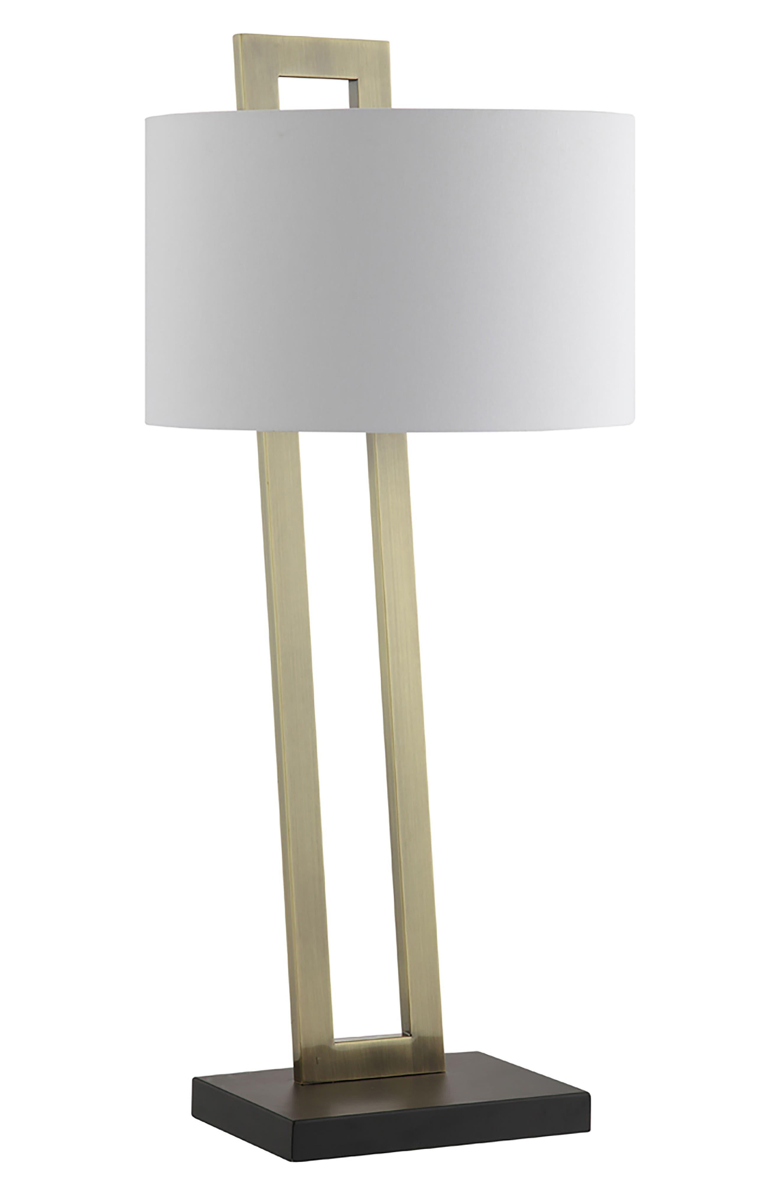 JAlexander Preston Table Lamp,                         Main,                         color, BRASS