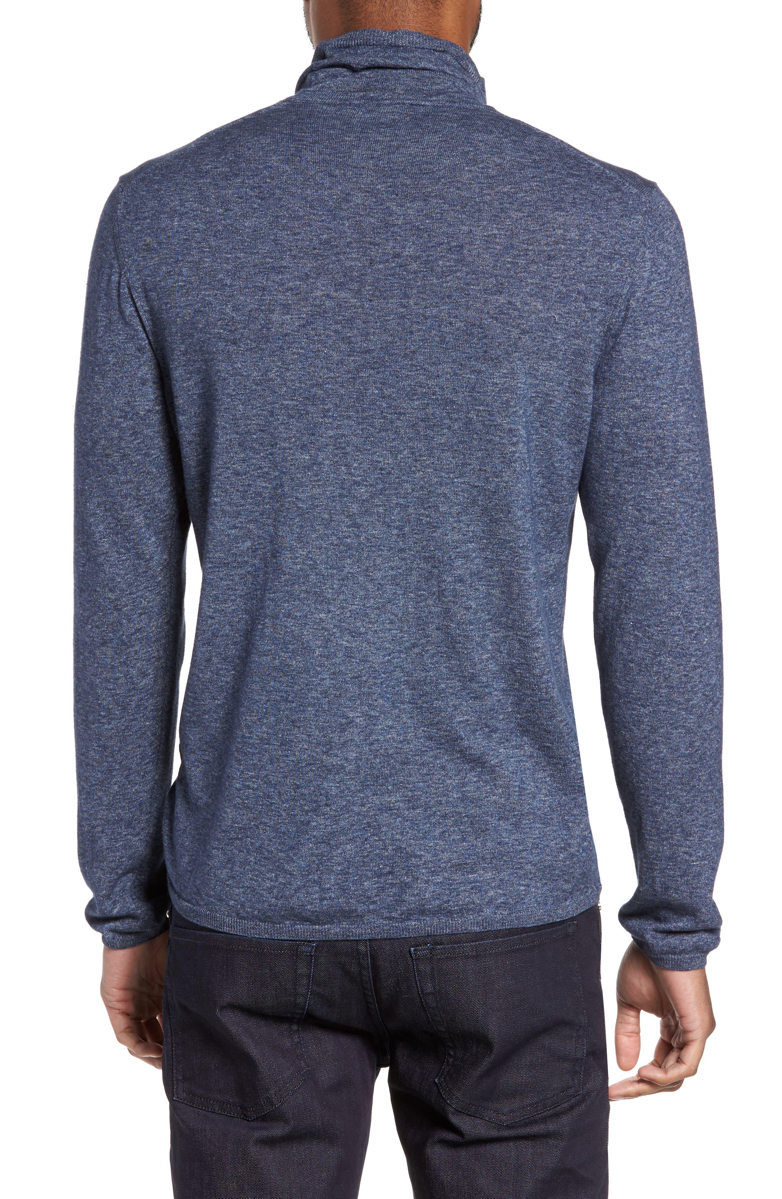Hess Wool Turtleneck Sweater,                             Alternate thumbnail 4, color,