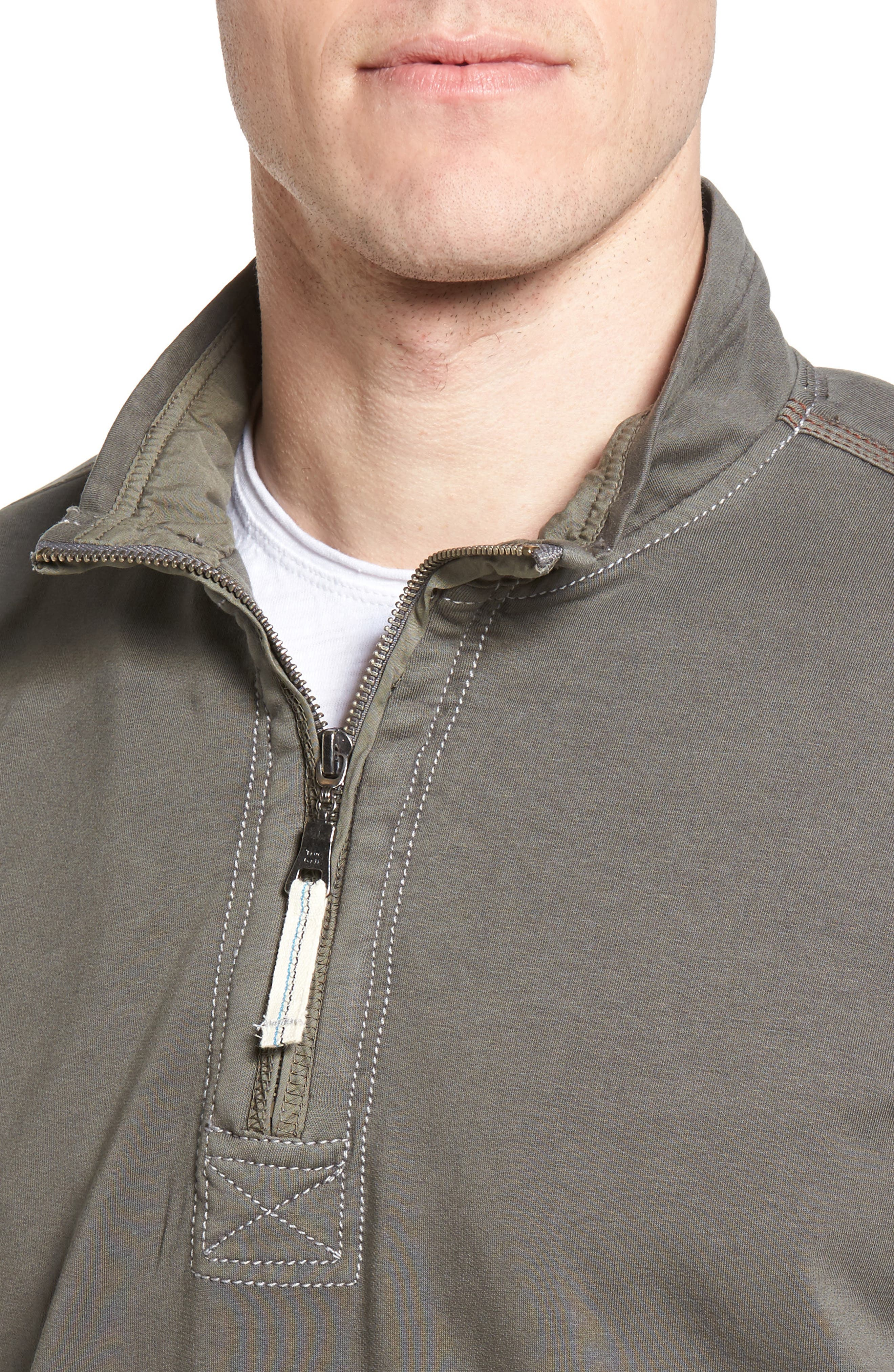 Half Zip Pullover,                             Alternate thumbnail 4, color,                             022