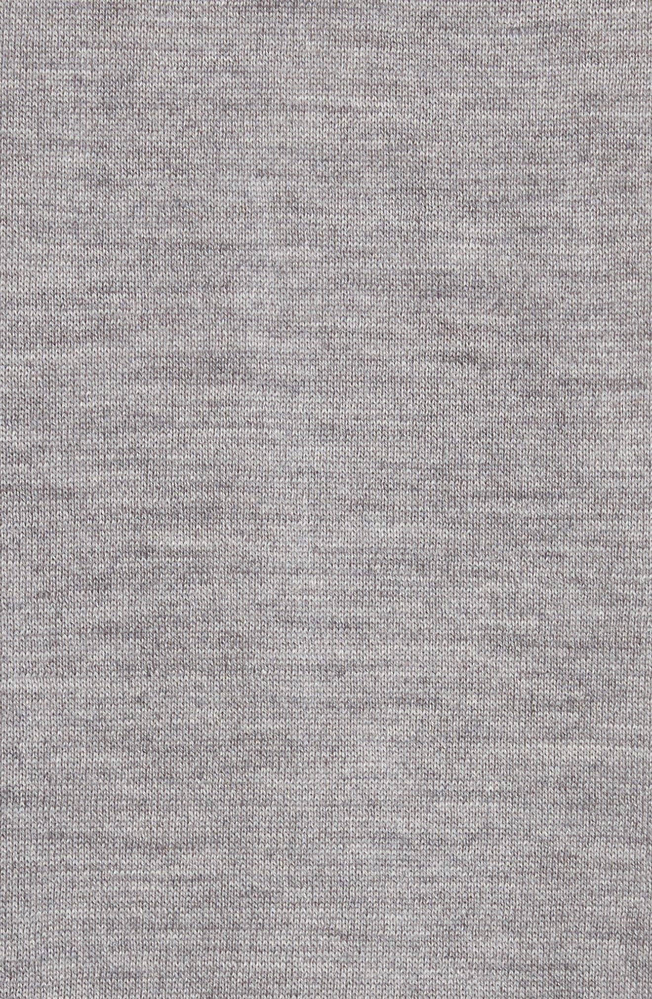 Artist Stripe Merino Wool Sweater,                             Alternate thumbnail 5, color,                             020
