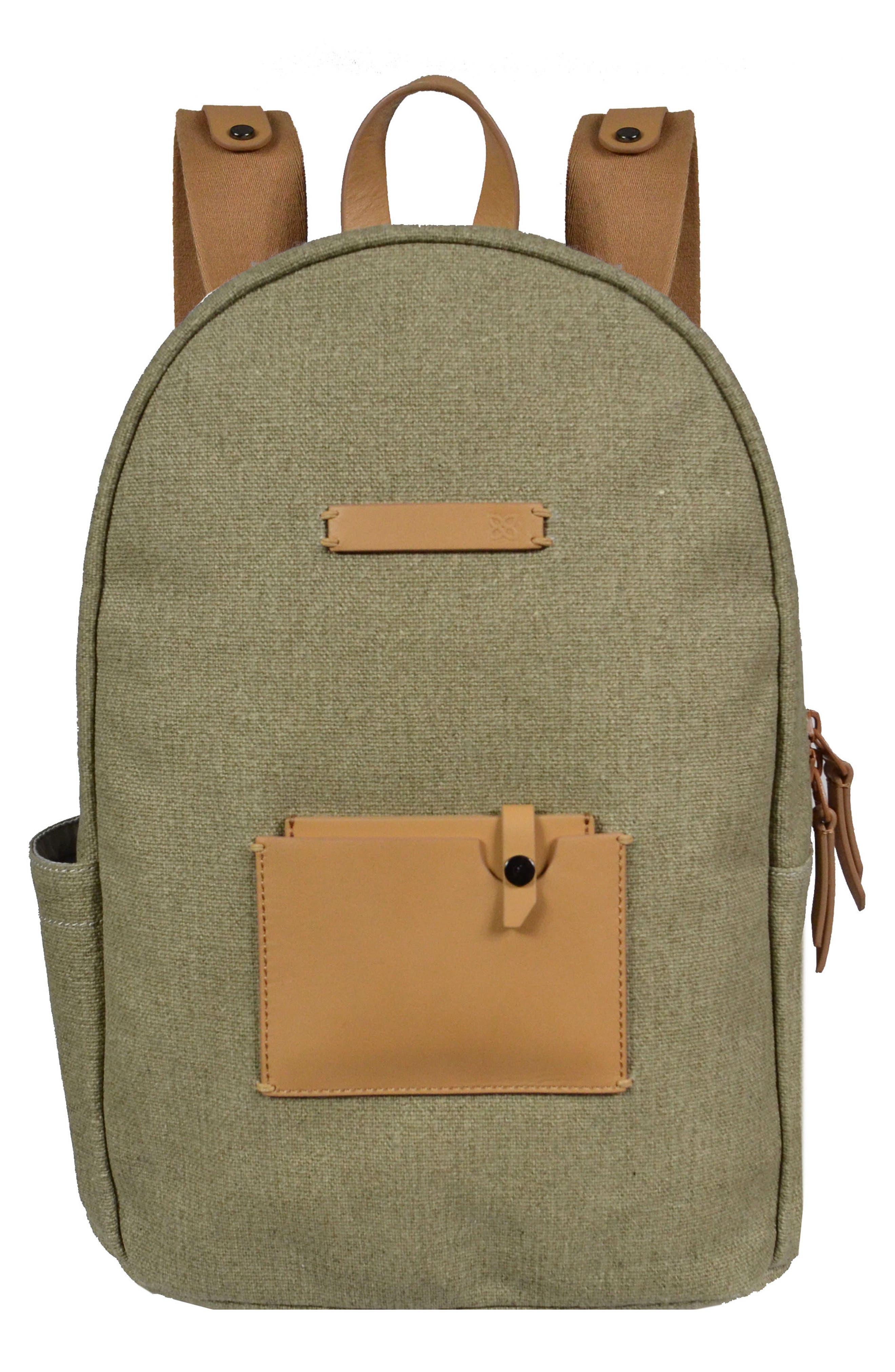 Indie Boiled Wool Backpack,                             Main thumbnail 4, color,