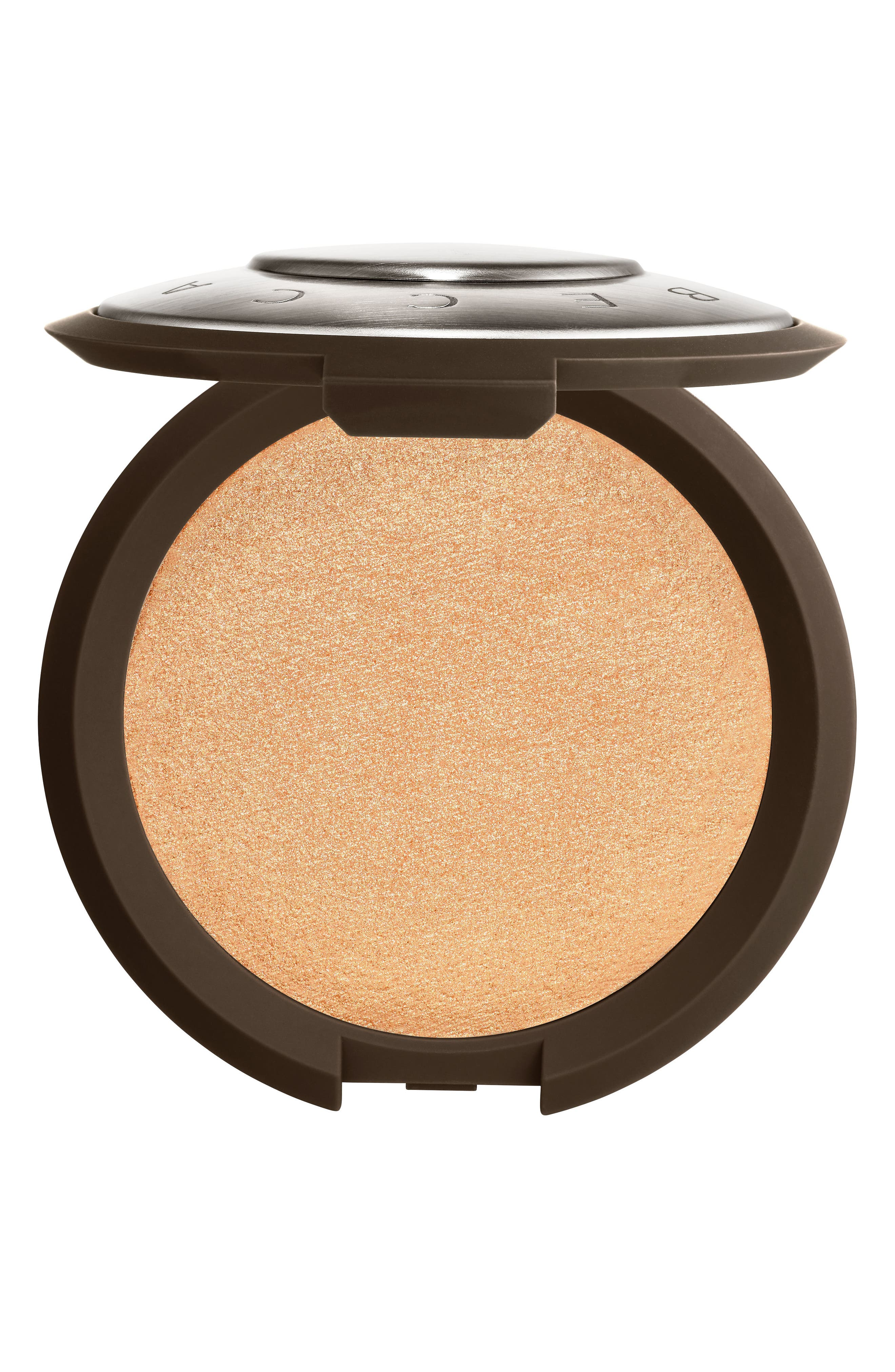 BECCA Shimmering Skin Perfector Pressed Highlighter,                             Main thumbnail 1, color,                             CHAMPAGNE POP