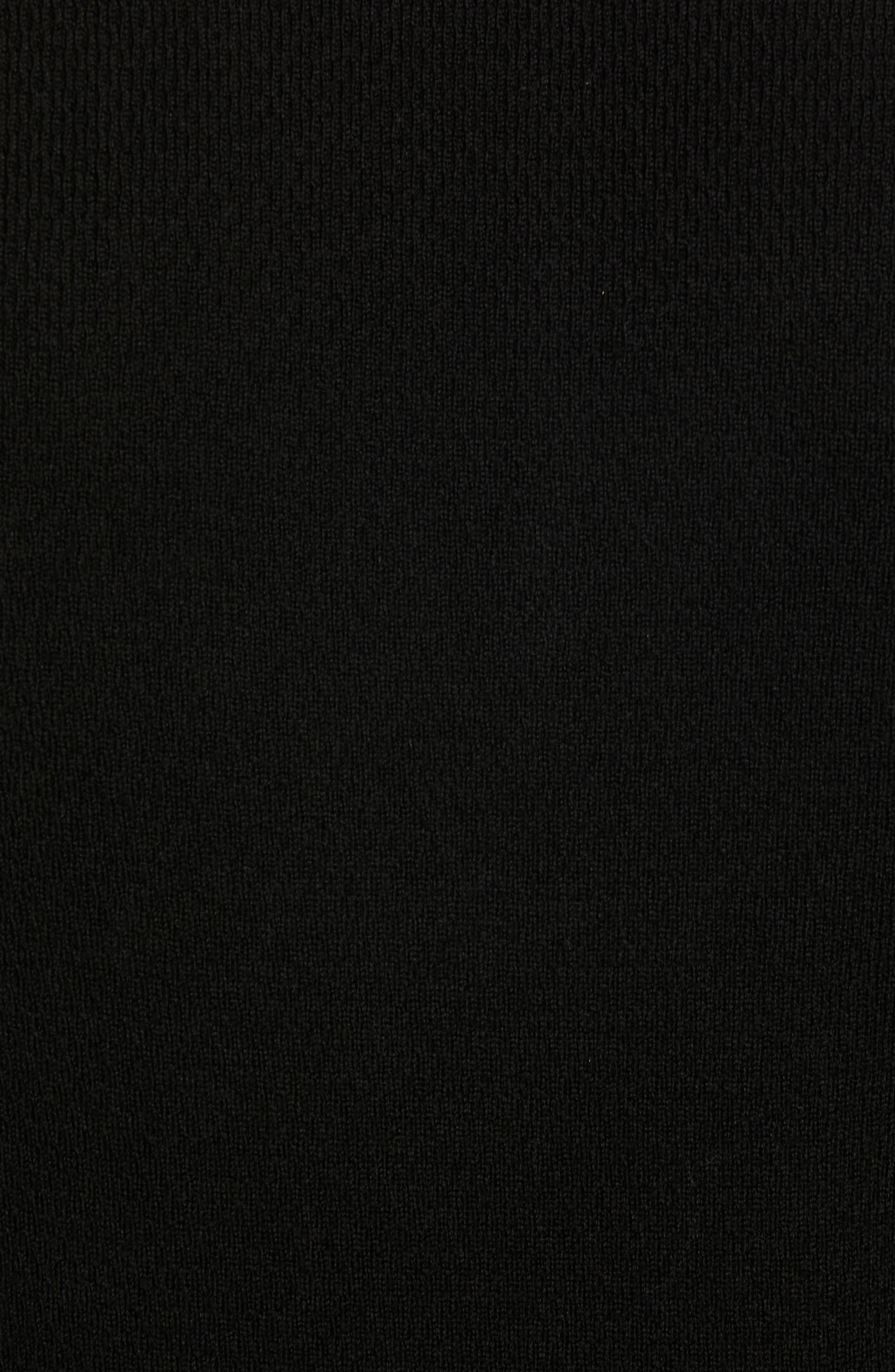Gregory Merino Wool Blend Thermal Henley,                             Alternate thumbnail 5, color,                             BLACK