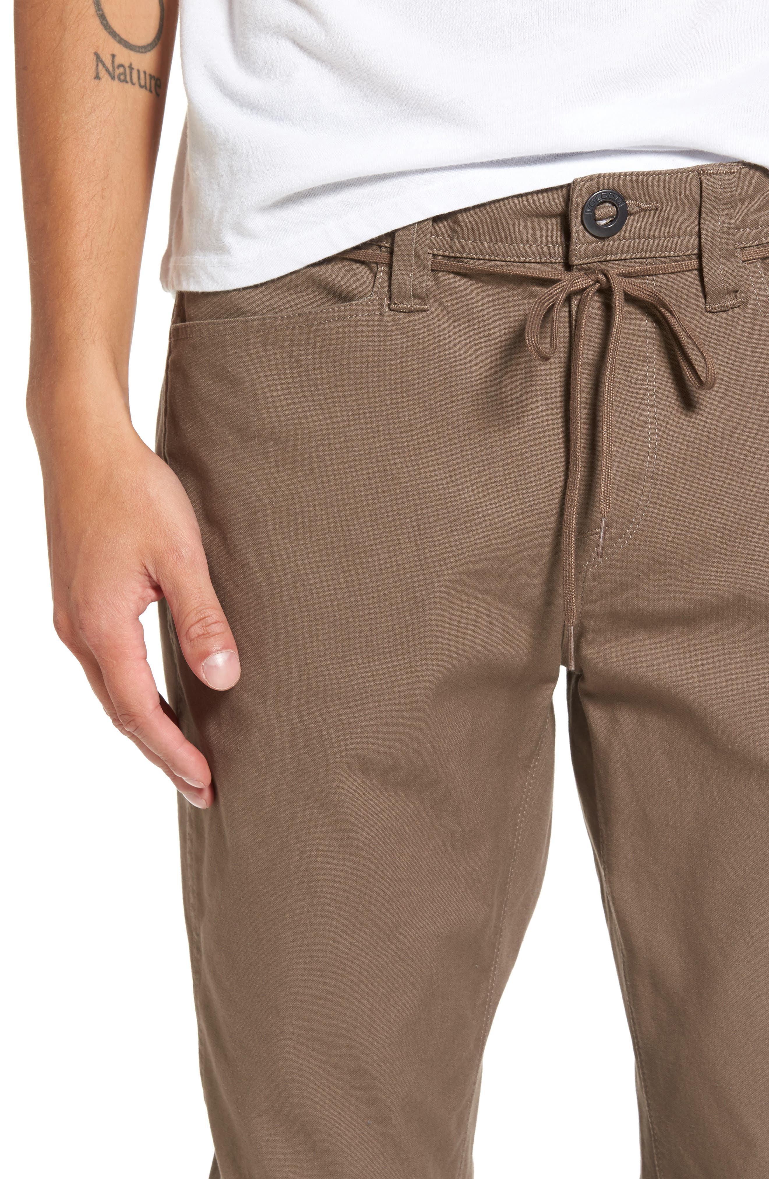 'VSM Gritter' Tapered Chinos,                             Alternate thumbnail 4, color,                             250