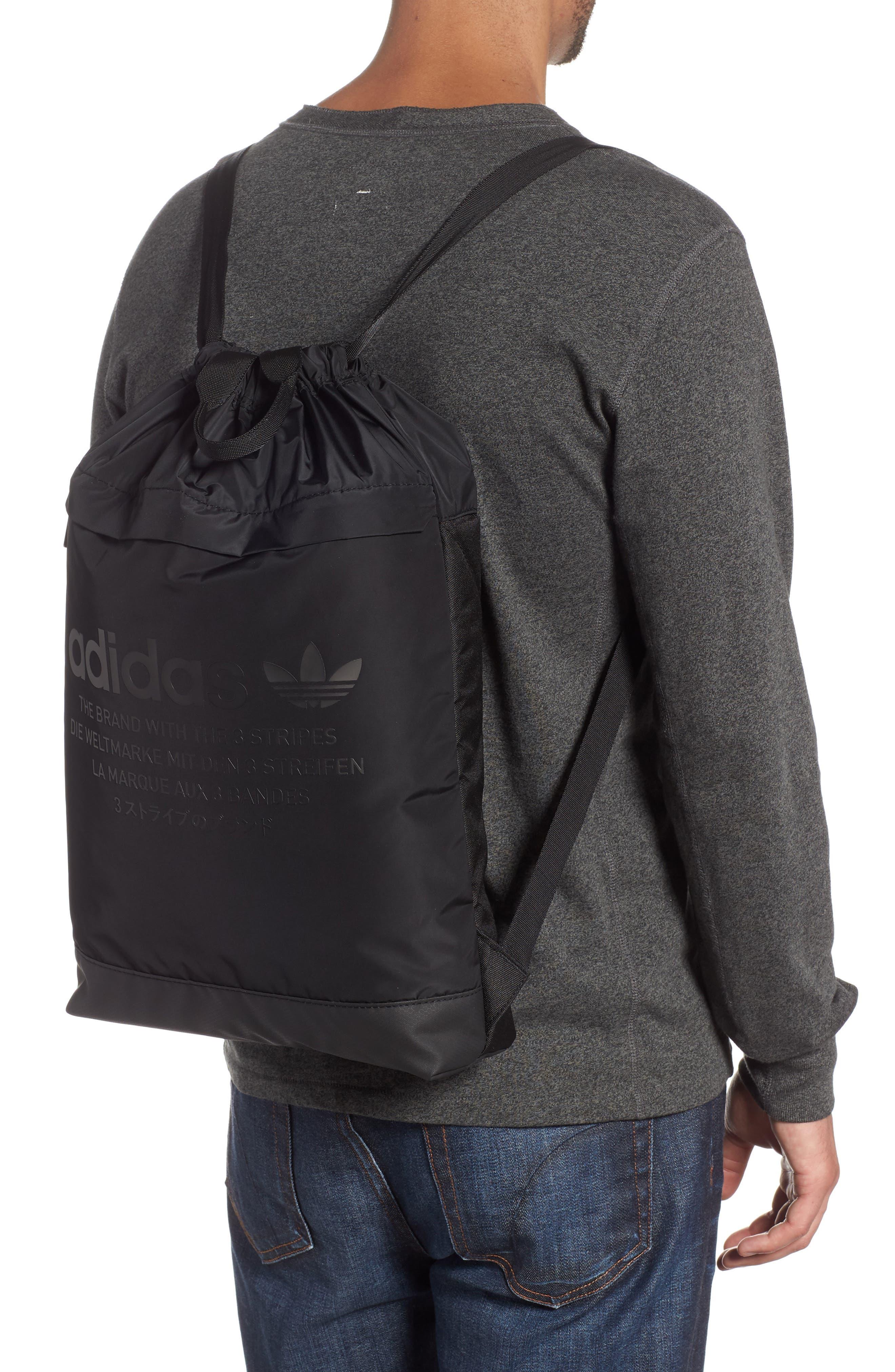 NMD Sack Pack,                             Alternate thumbnail 2, color,                             BLACK