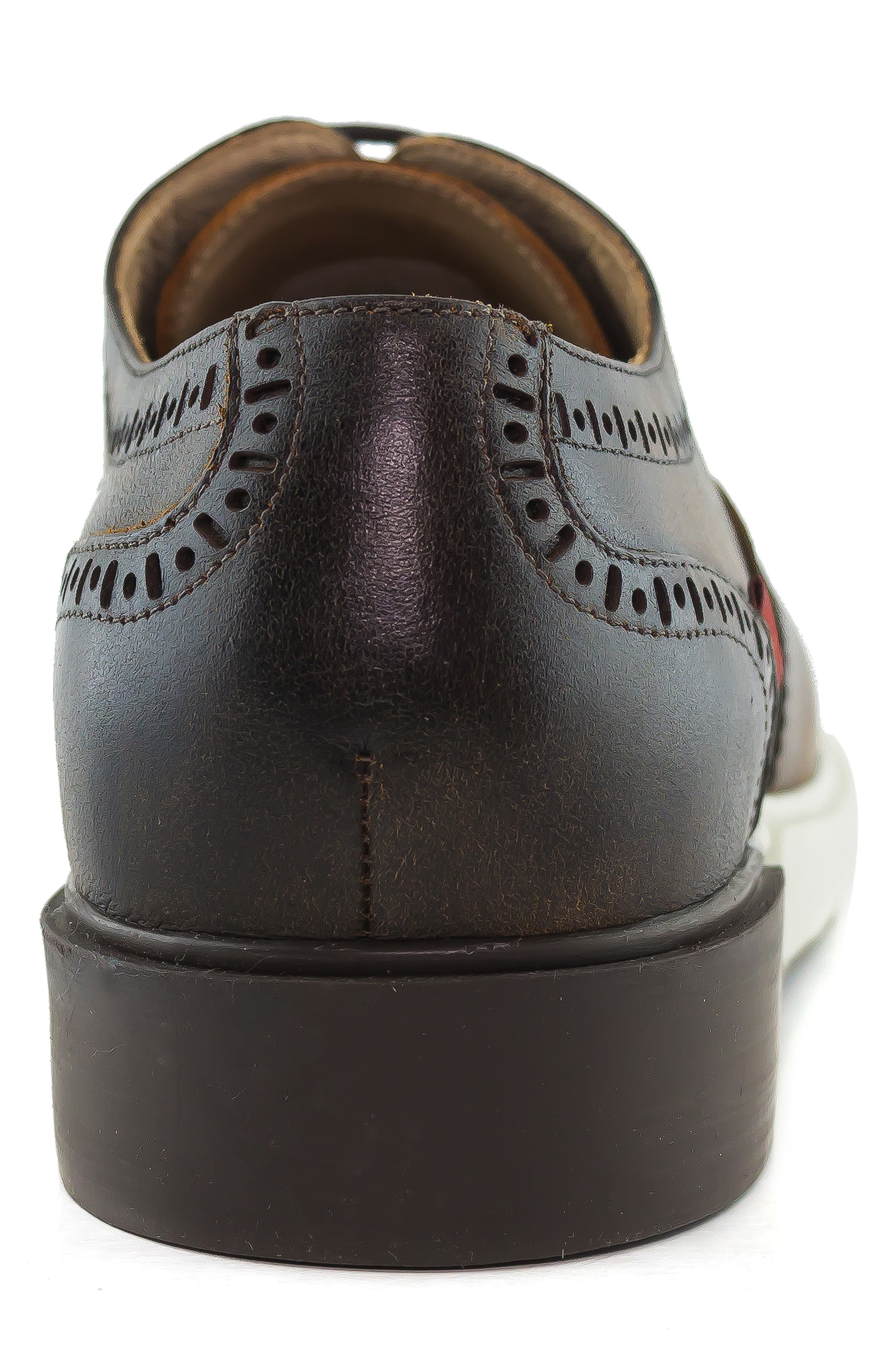 5th Ave Wingtip Sneaker,                             Alternate thumbnail 28, color,