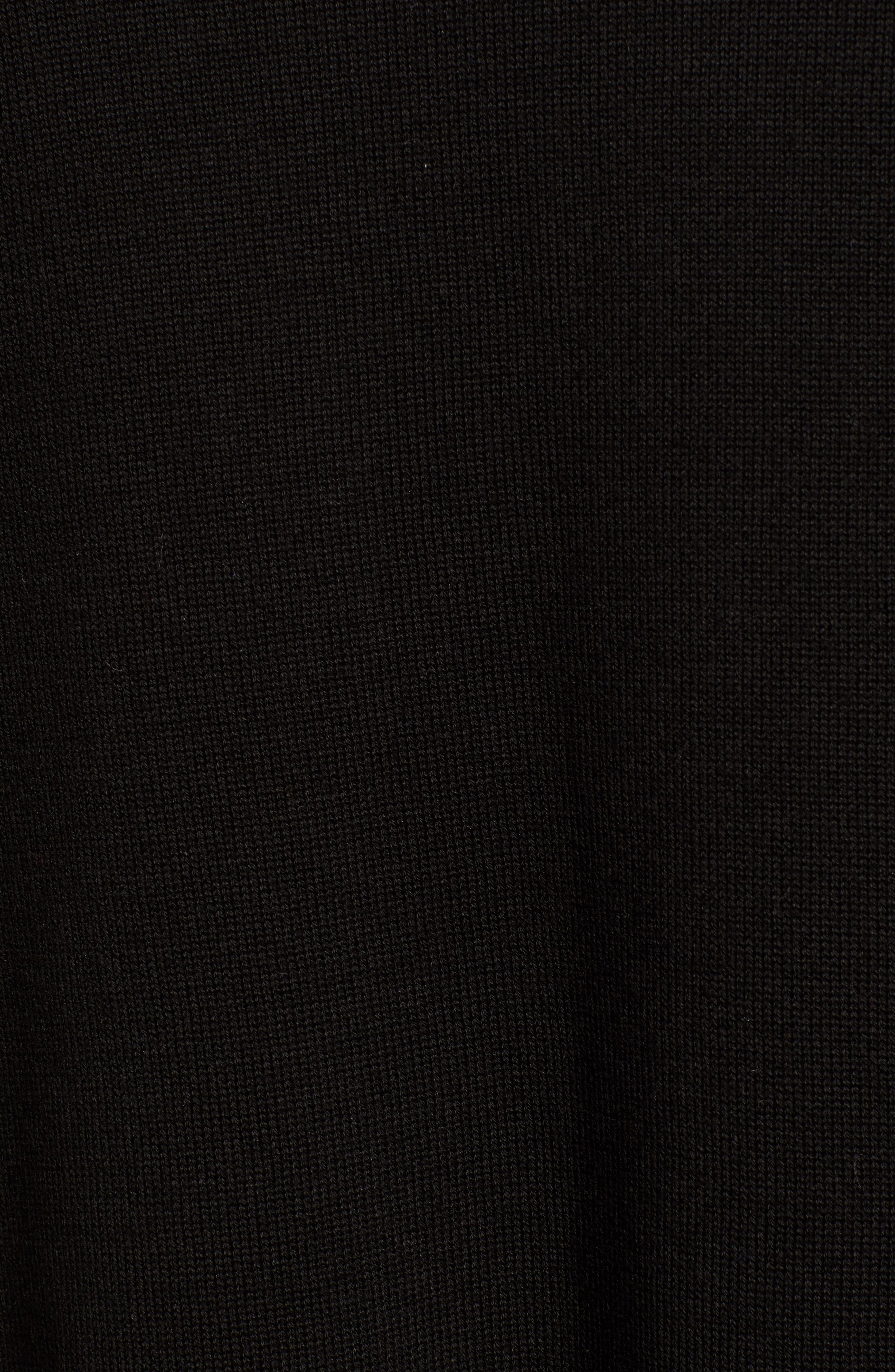 Mixed Knit Cotton Cardigan,                             Alternate thumbnail 5, color,                             012