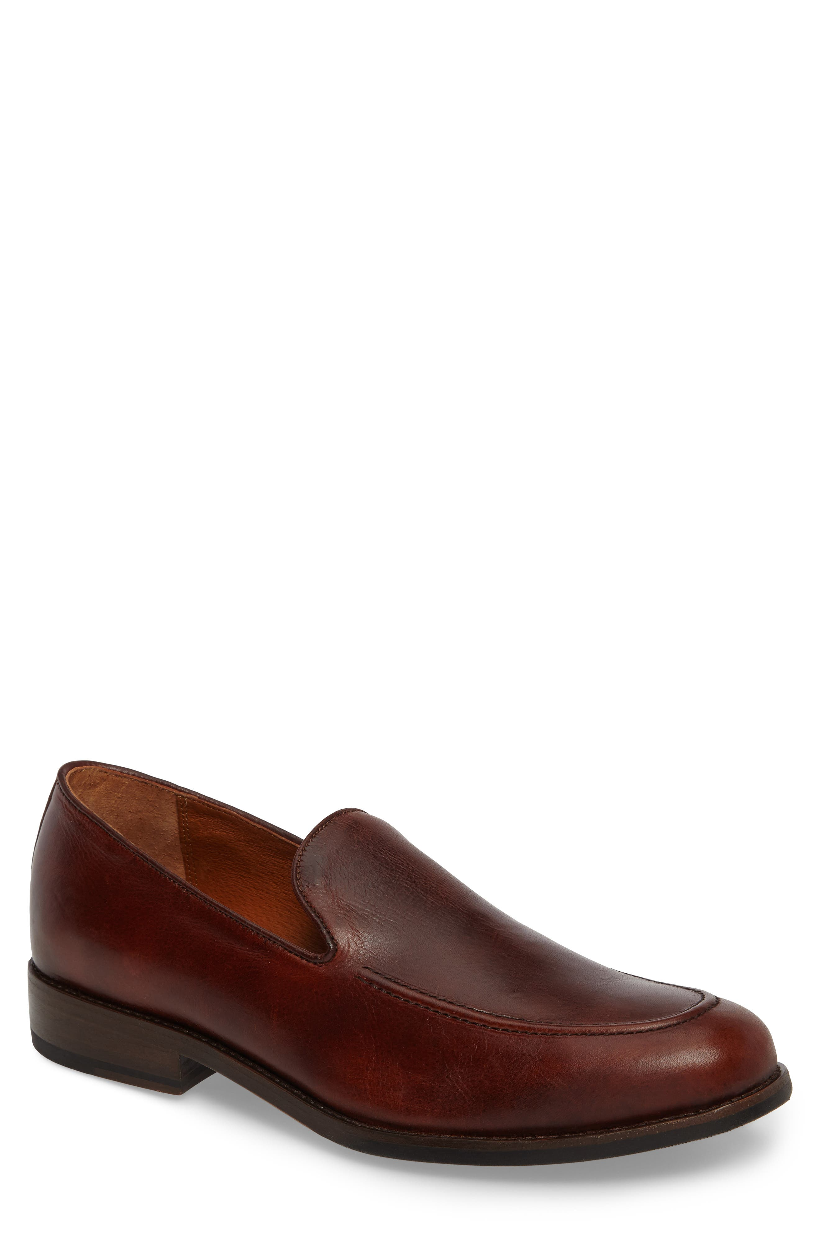 Jefferson Venetian Loafer,                             Main thumbnail 1, color,                             BROWN