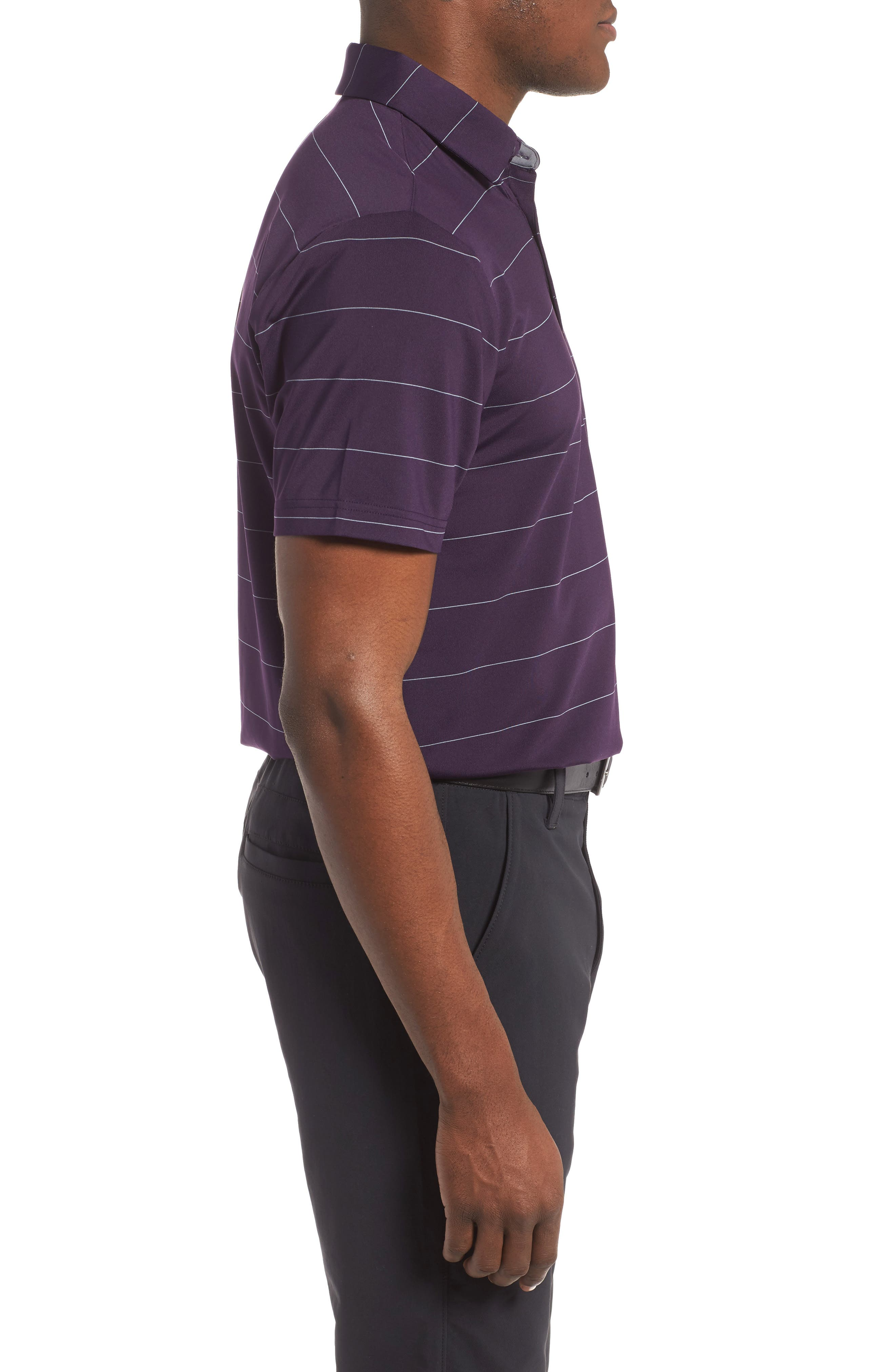 'Playoff' Loose Fit Short Sleeve Polo,                             Alternate thumbnail 163, color,