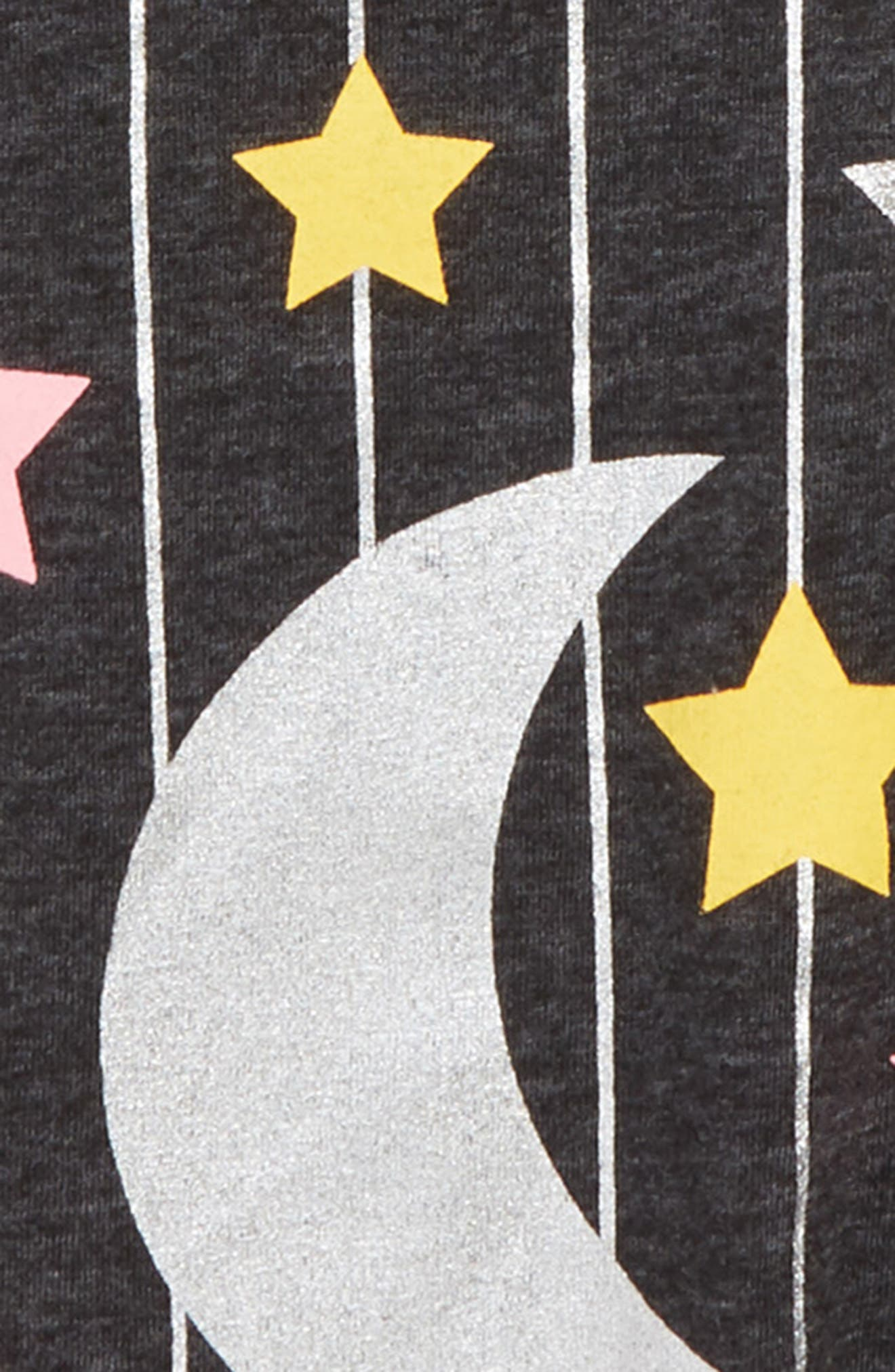 Sparkle Graphic Tee,                             Alternate thumbnail 2, color,                             BLACK MOON AND STARS