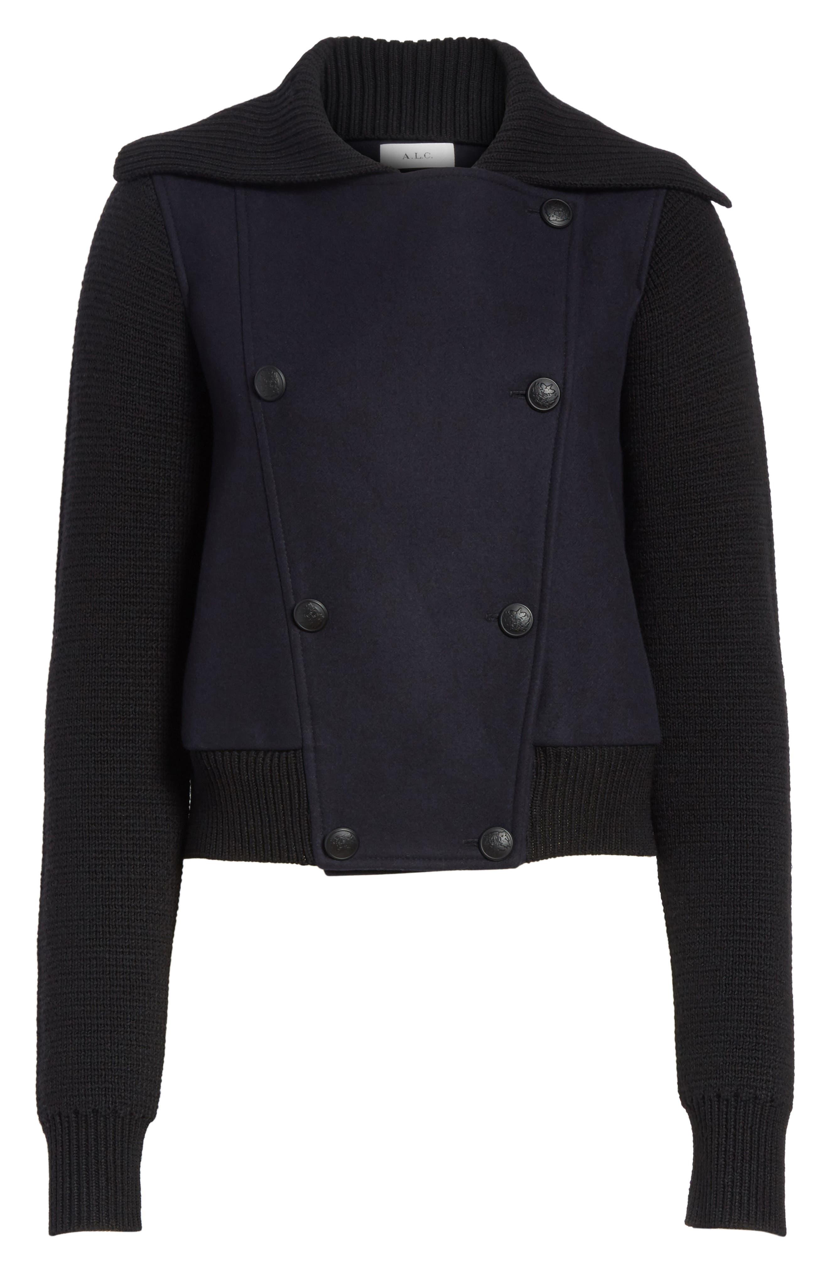 Bryant Merino Wool Blend Jacket,                             Alternate thumbnail 5, color,                             410