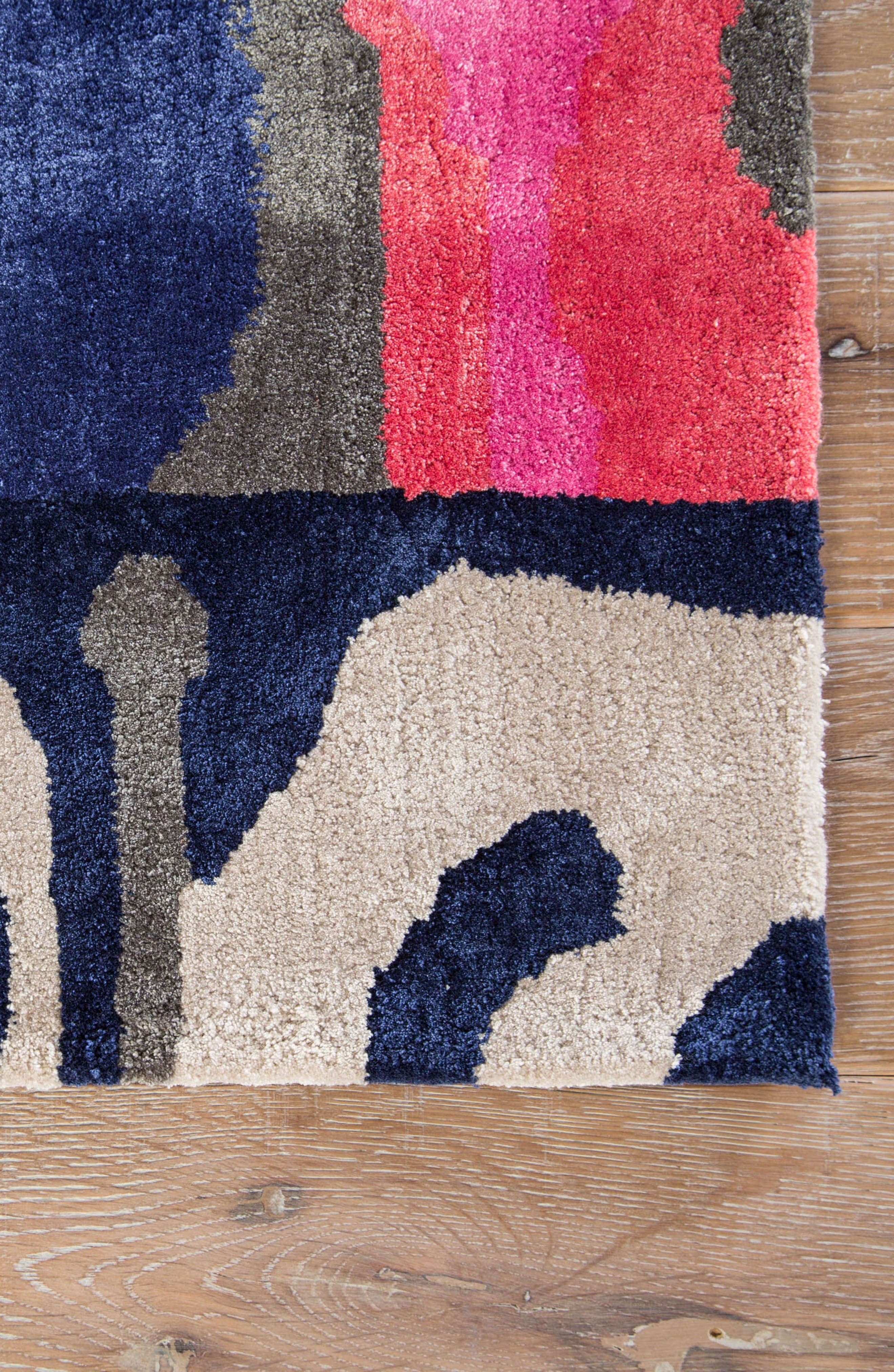 greenpoint plum kitten rug,                             Alternate thumbnail 4, color,