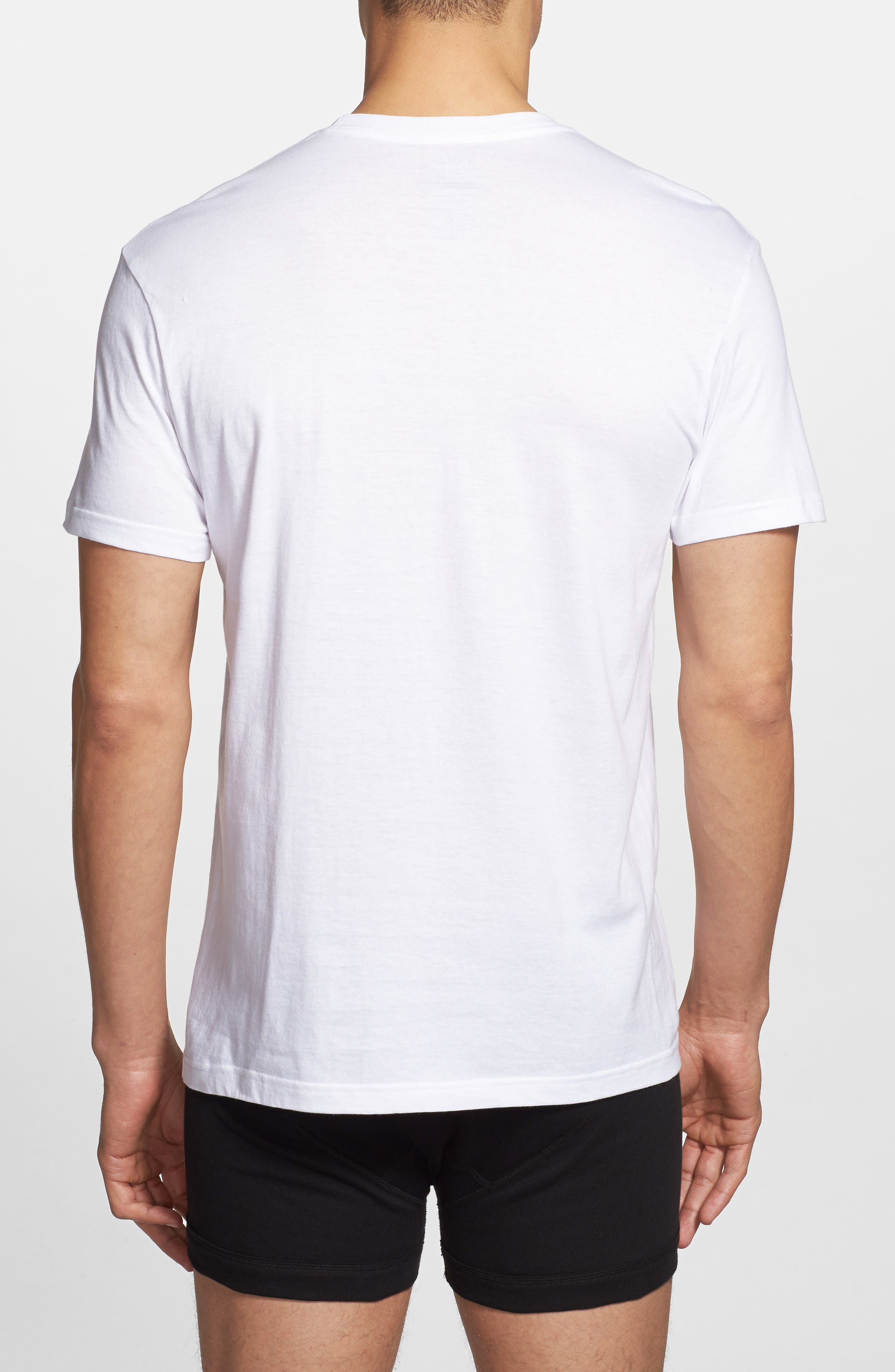 5-Pack Crewneck T-Shirt,                             Alternate thumbnail 2, color,