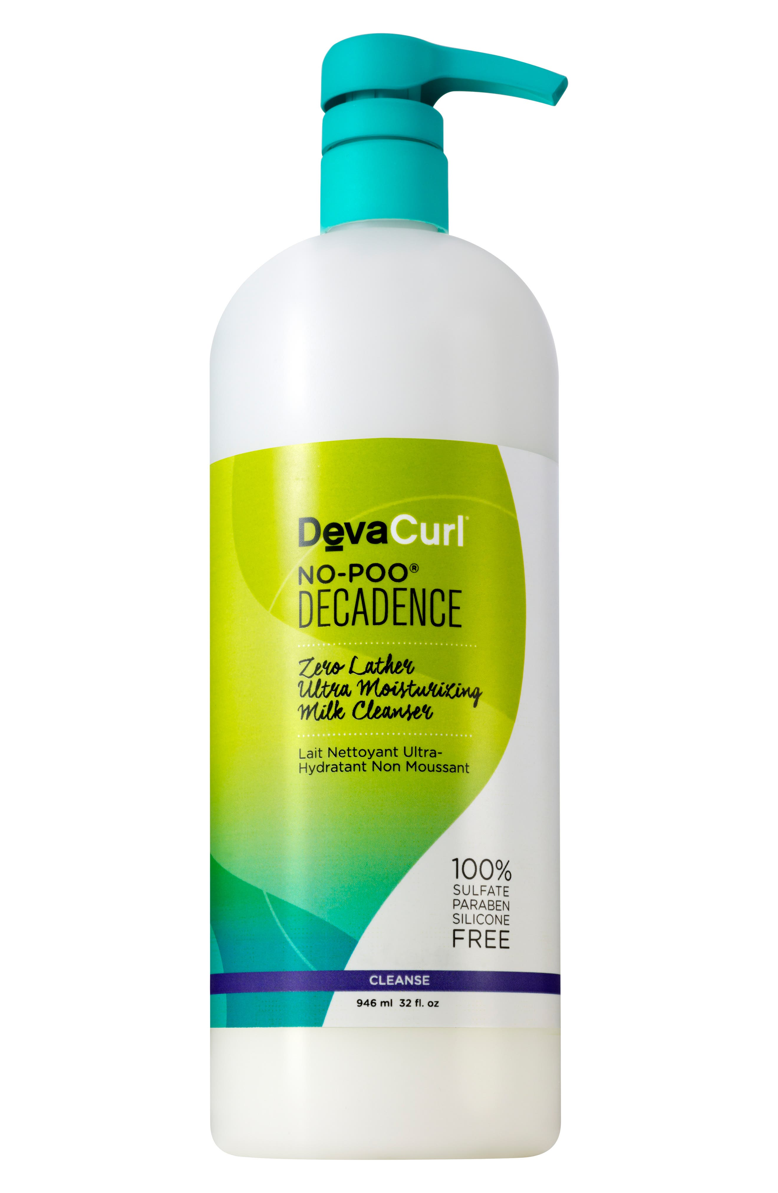 DEVACURL,                             No-Poo<sup>®</sup> Decadence Zero Lather Ultra Moisturizing Milk Cleanser,                             Alternate thumbnail 3, color,                             NO COLOR