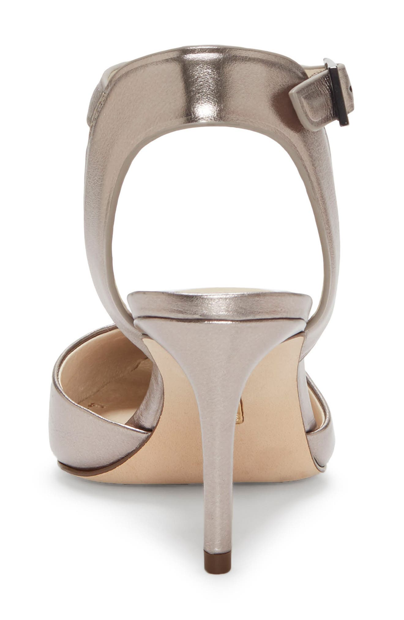 Kota Ankle Strap Pump,                             Alternate thumbnail 7, color,                             PETROL METALLIC