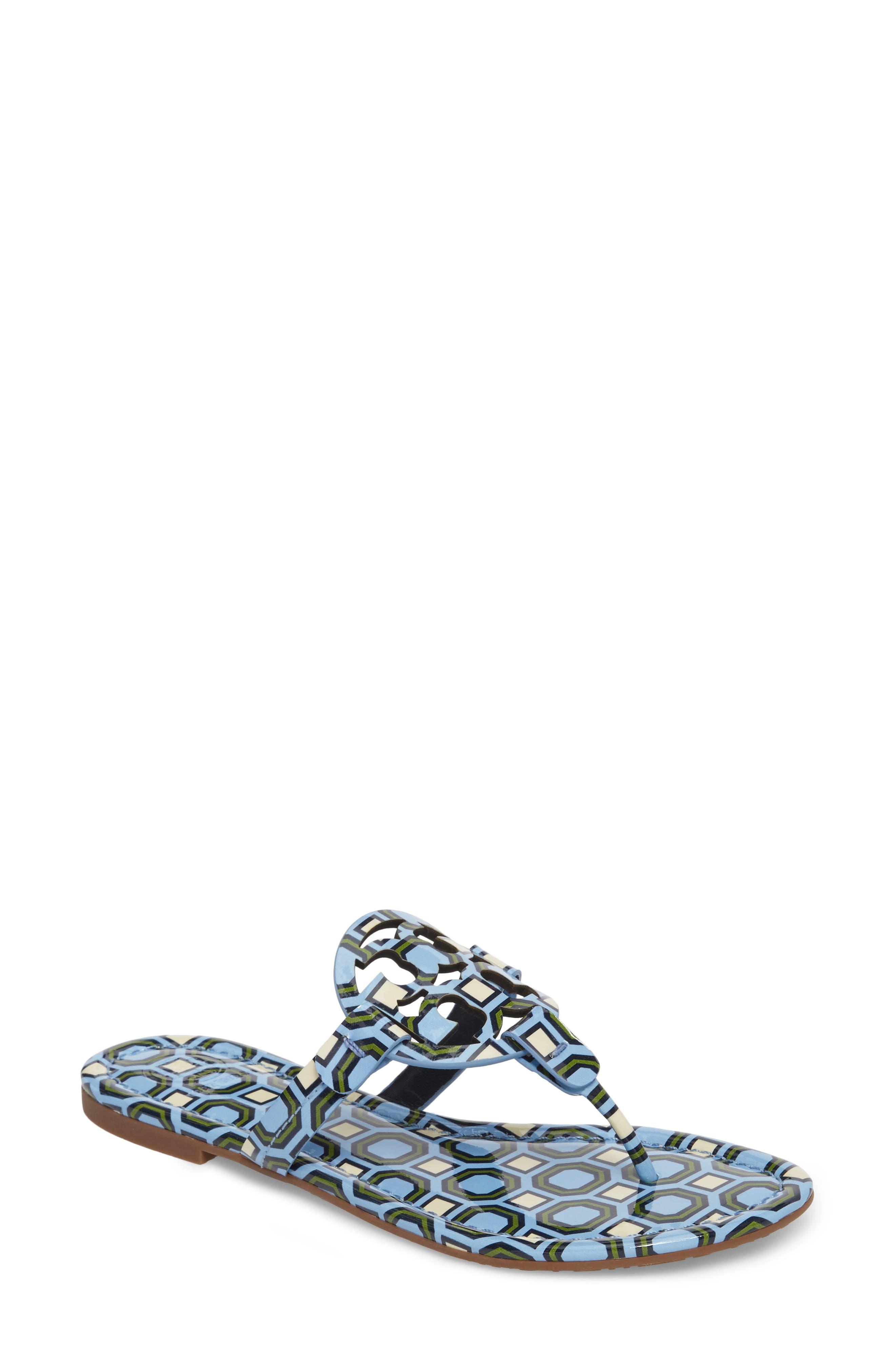 'Miller' Flip Flop,                         Main,                         color, LIGHT CHAMBRAY