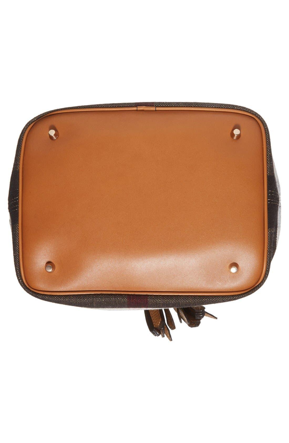 BURBERRY,                             Medium Ashby Bucket Bag,                             Alternate thumbnail 2, color,                             200