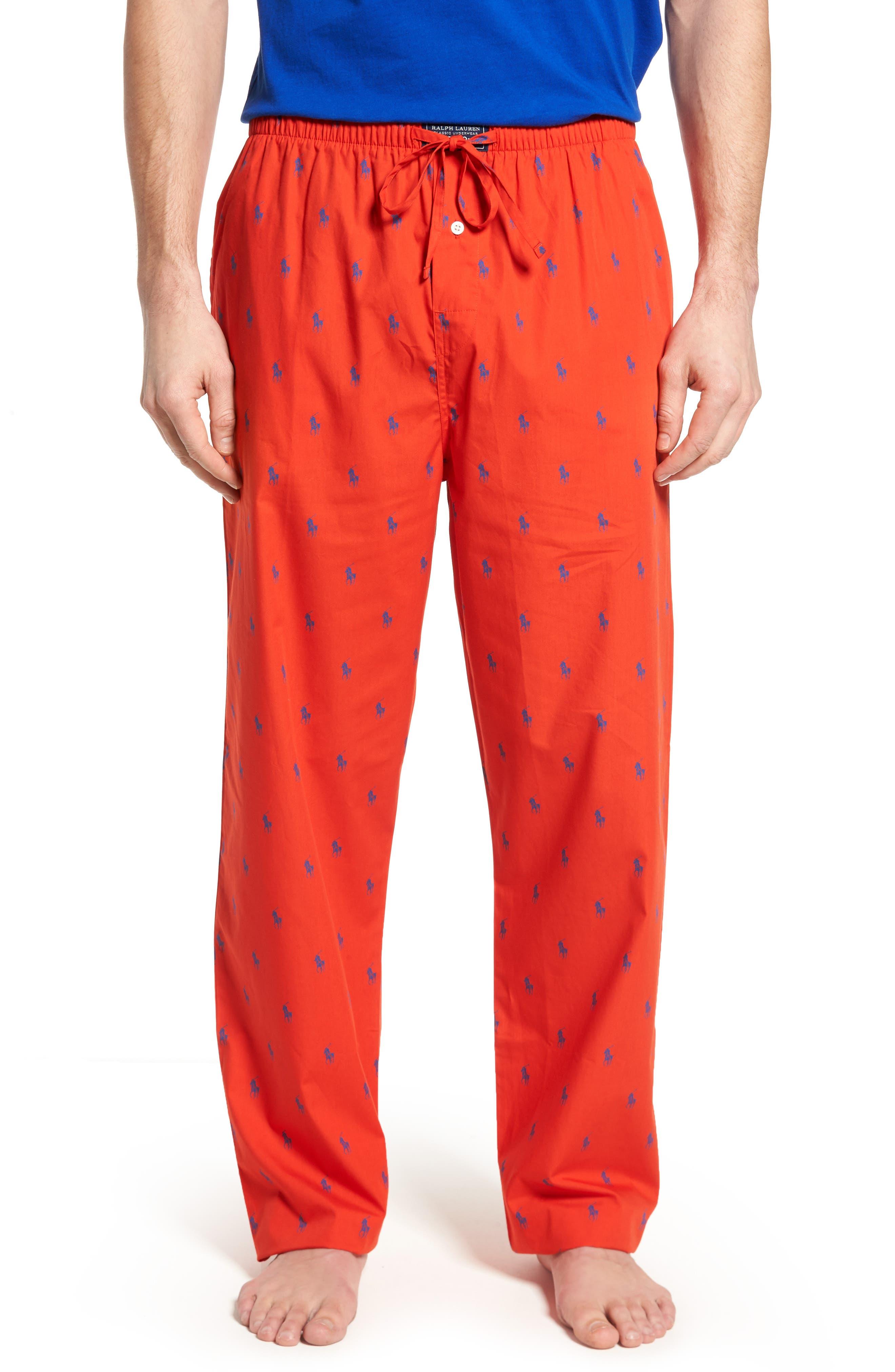 Polo Ralph Lauren Cotton Lounge Pants,                             Main thumbnail 5, color,