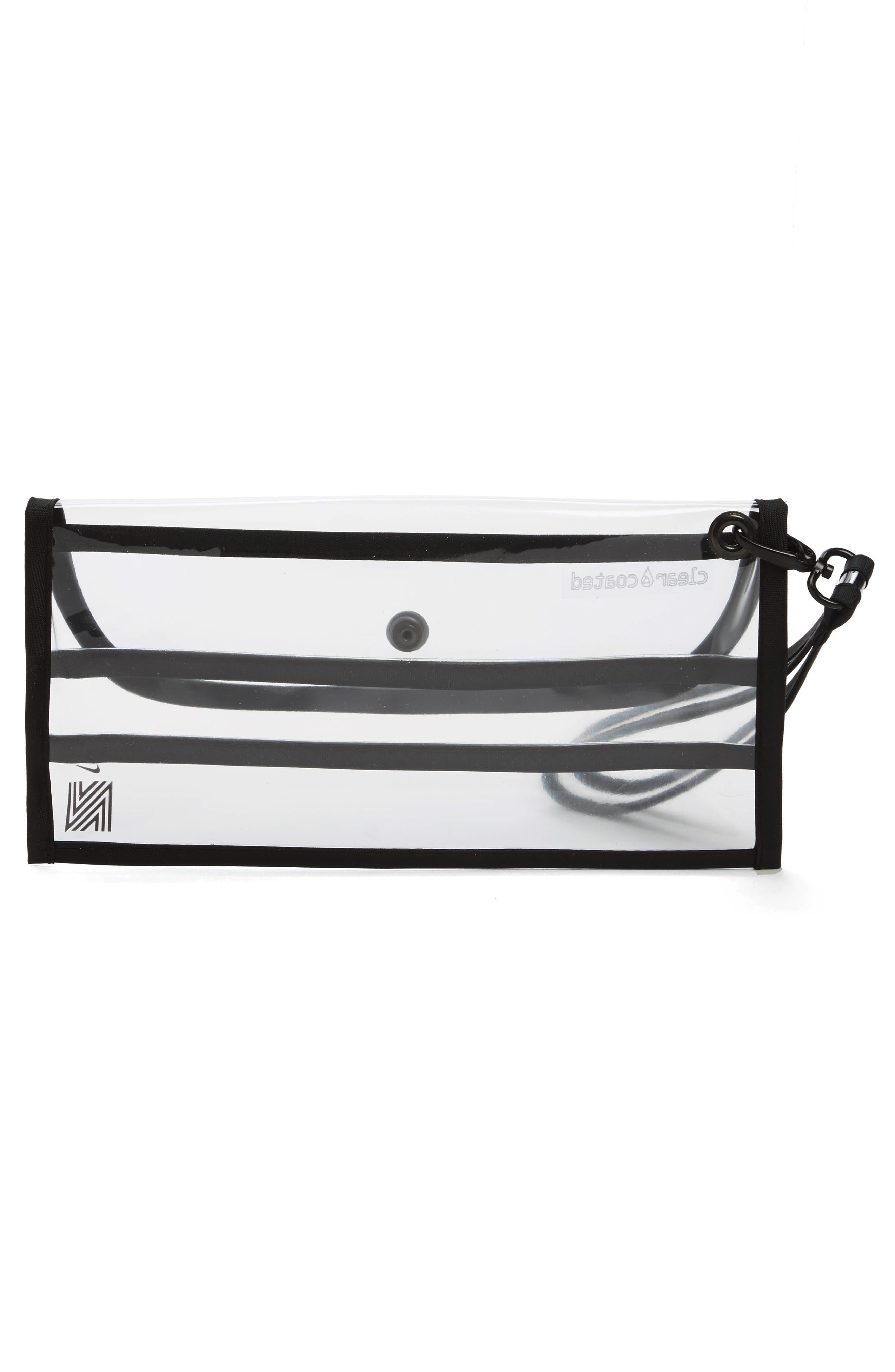Clear Coated Nordstrom x Nike Translucent Wristlet Clutch,                             Alternate thumbnail 3, color,                             960