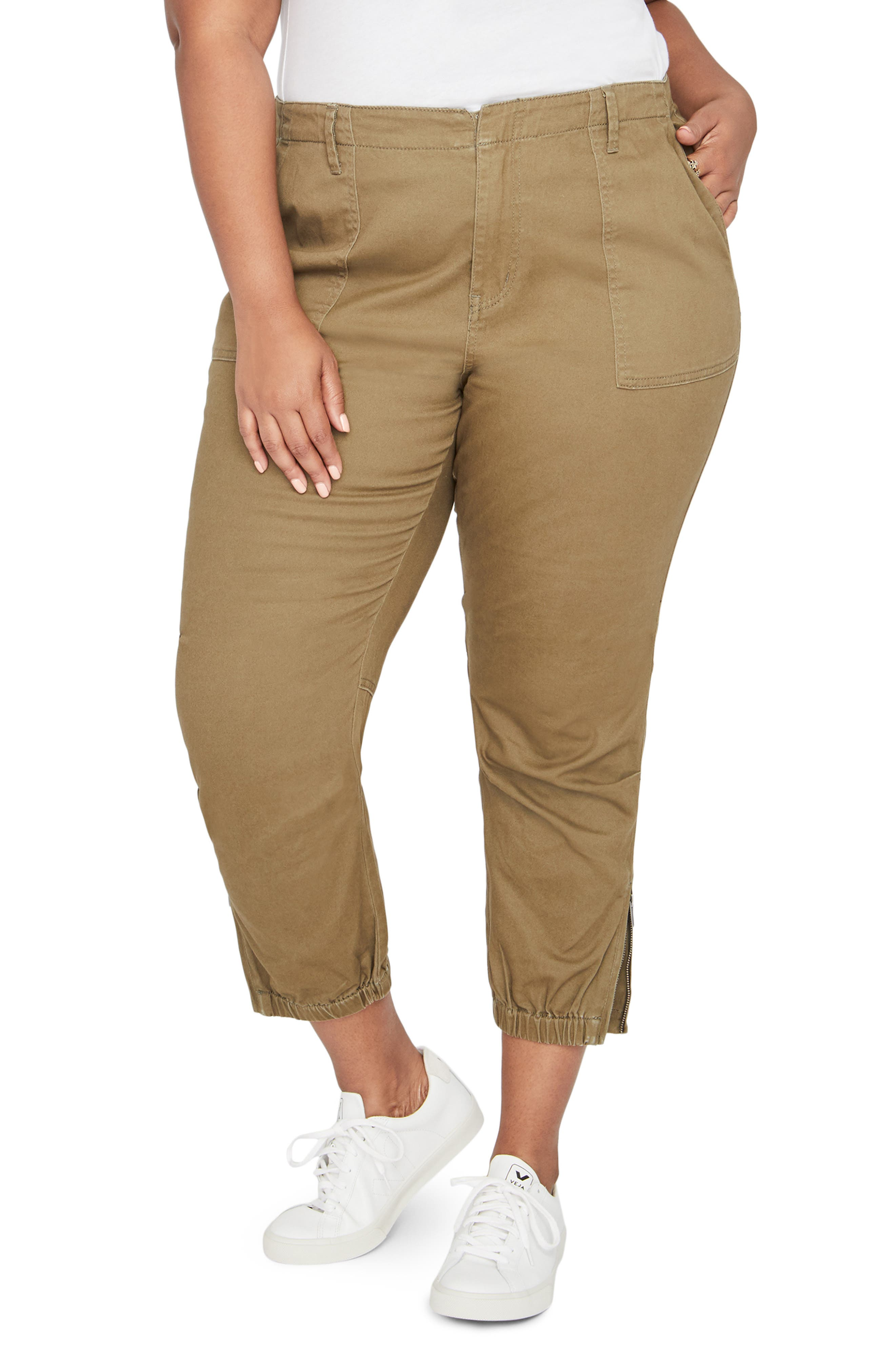 Army High Rise Crop Military Pants,                             Alternate thumbnail 2, color,                             312