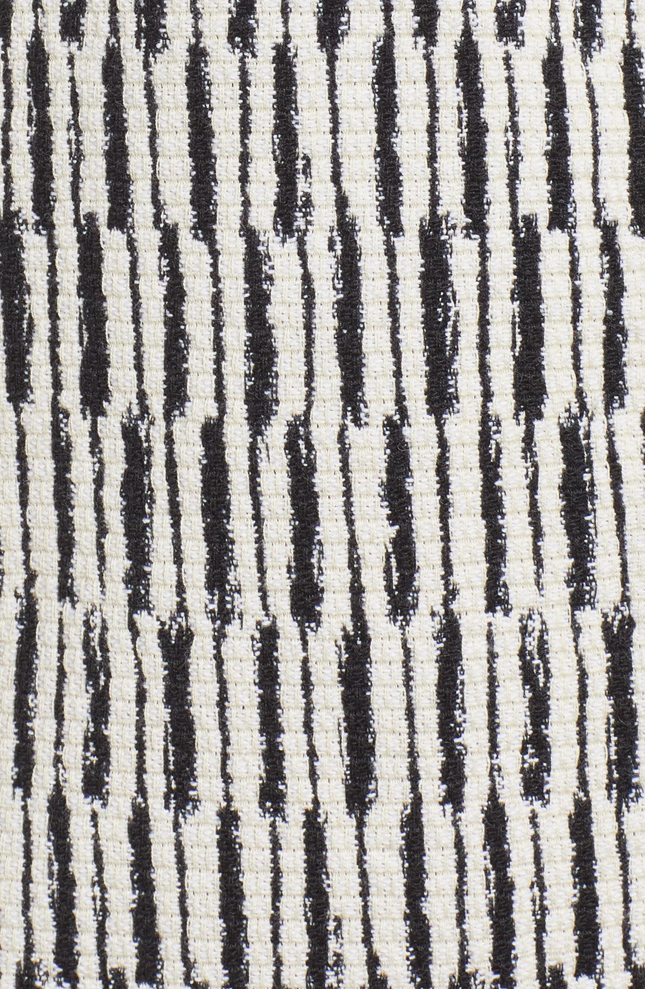 Tweed Jacket,                             Alternate thumbnail 7, color,                             BLACK/ WHITE