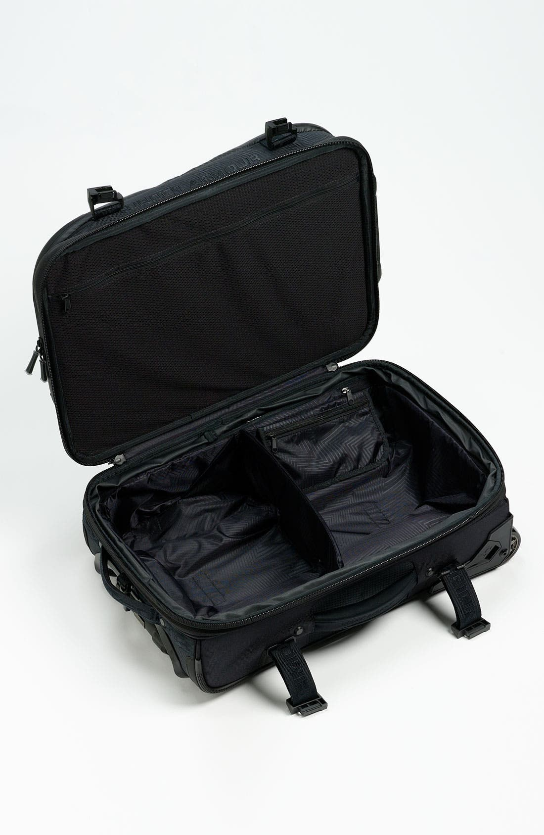 'Elite' Rolling Carry-On,                             Alternate thumbnail 4, color,                             001