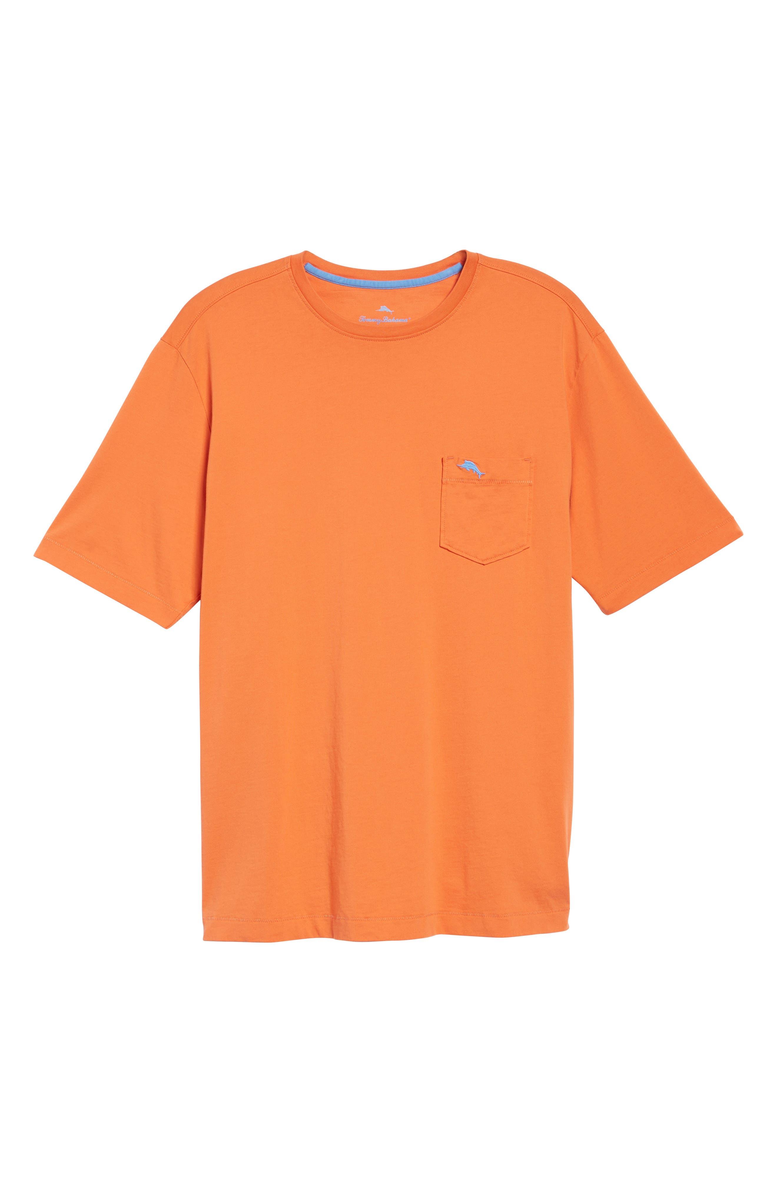 New Bali Sky Pima Cotton Pocket T-Shirt,                             Alternate thumbnail 133, color,