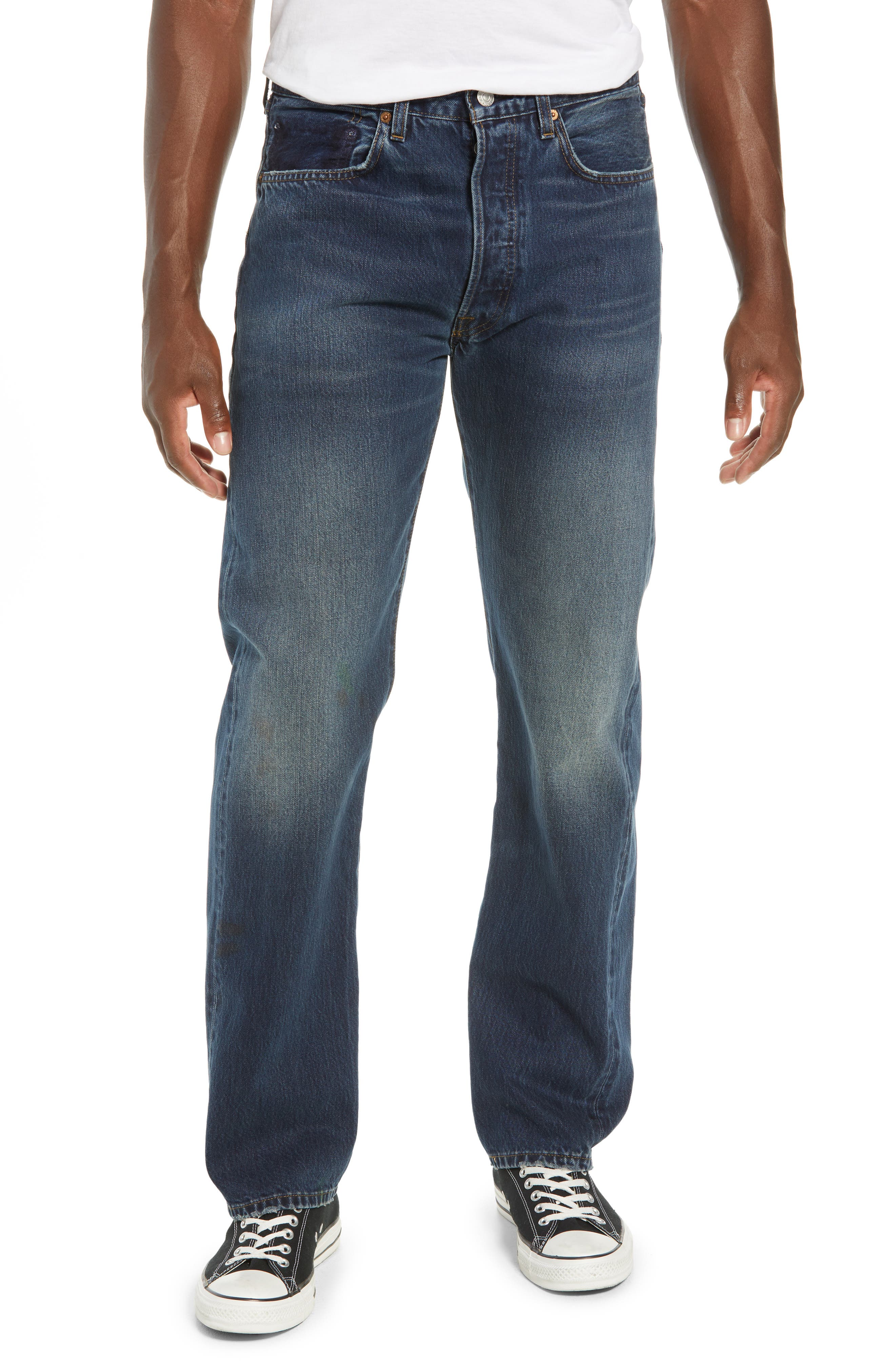 Levi's<sup>®</sup> 1967 501<sup>®</sup> Slim Fit Jeans,                         Main,                         color, 402