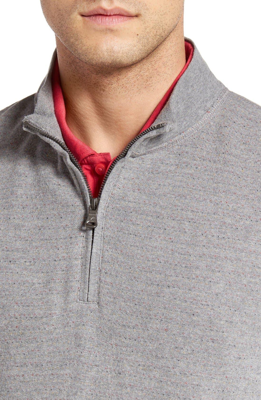 'Gleann' Quarter Zip Pullover,                             Alternate thumbnail 4, color,