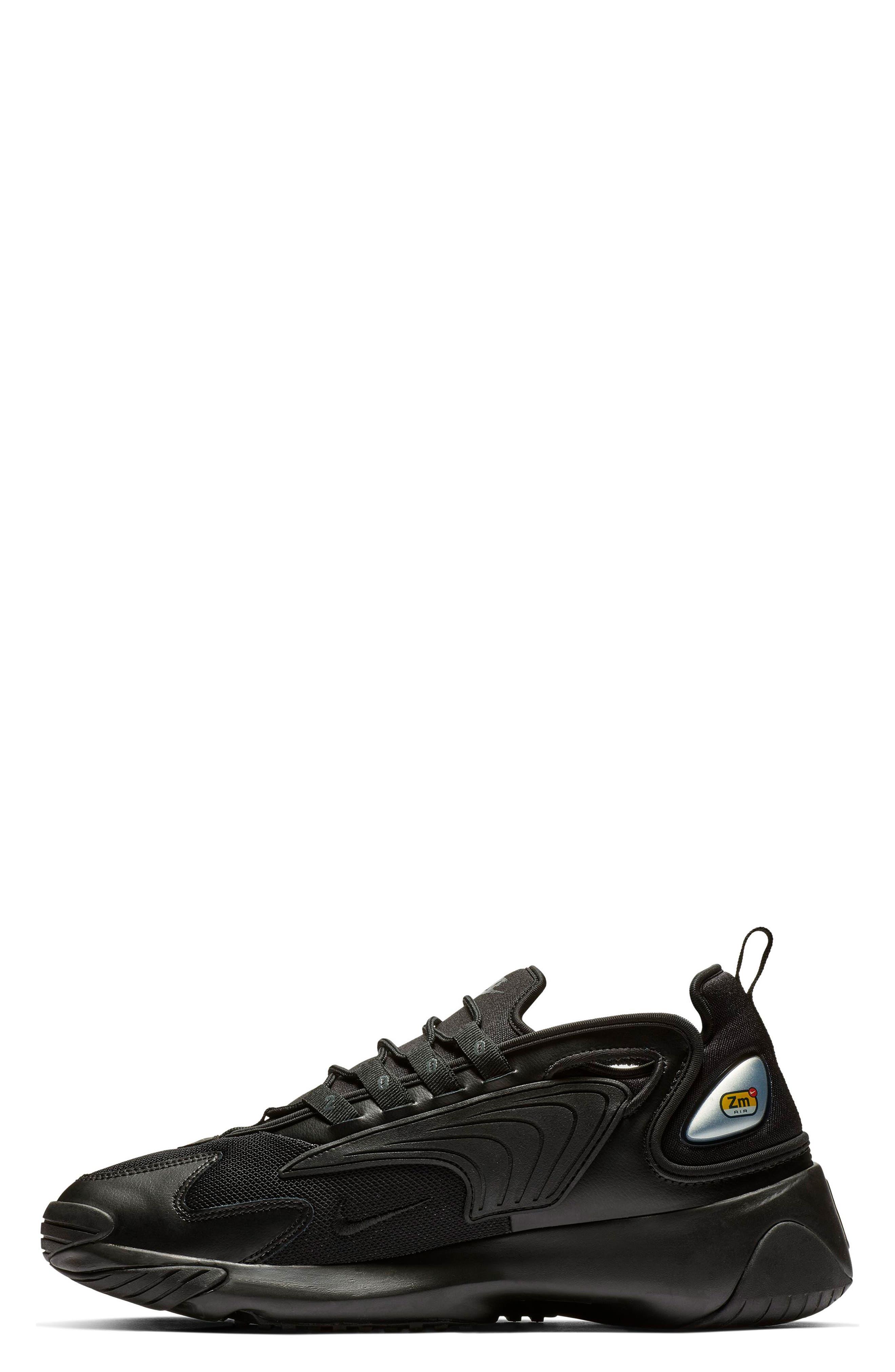 Zoom 2K Sneaker,                             Alternate thumbnail 3, color,                             BLACK/ BLACK/ ANTHRACITE