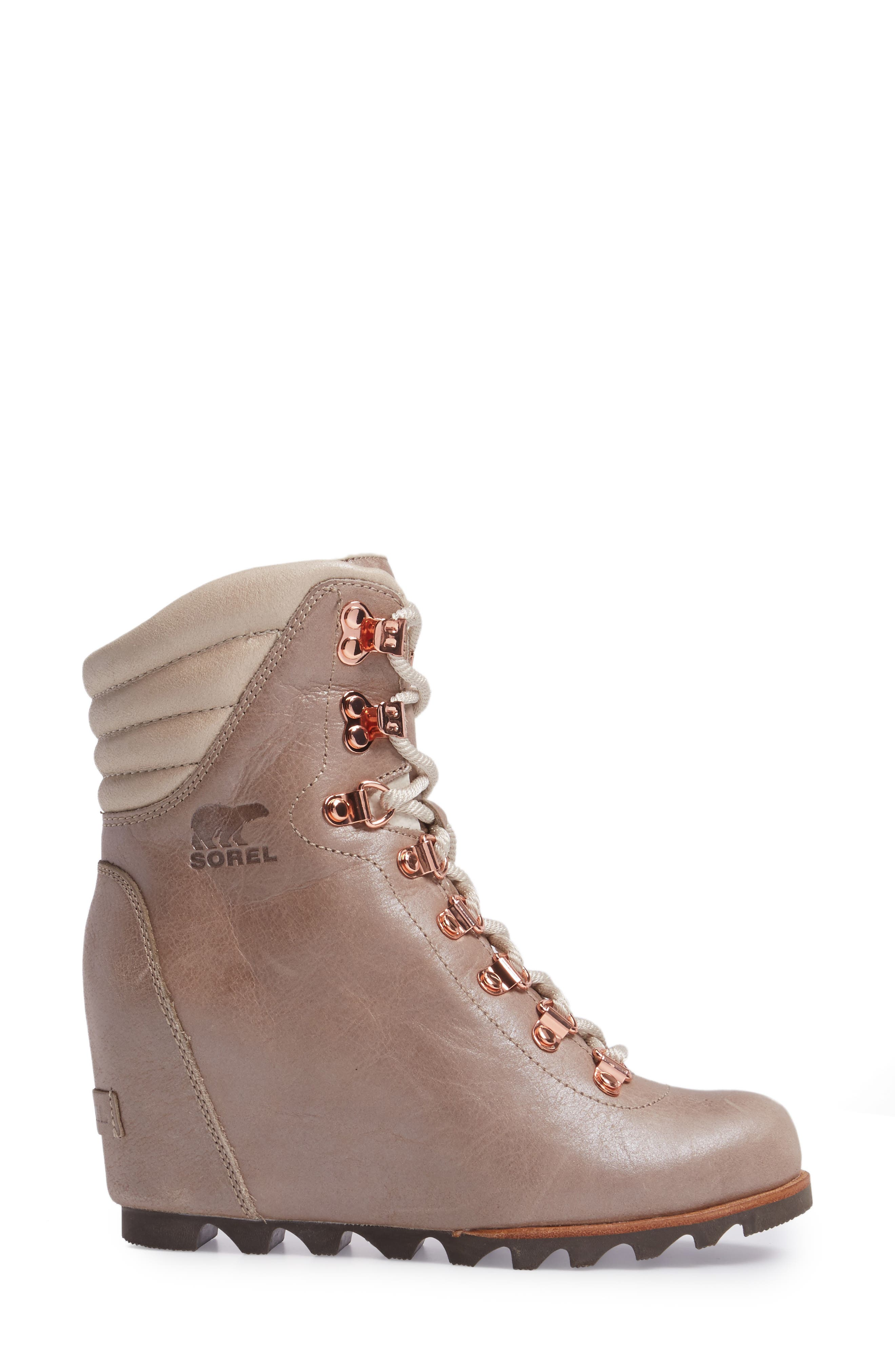 'Conquest' Waterproof Wedge Boot,                             Alternate thumbnail 15, color,