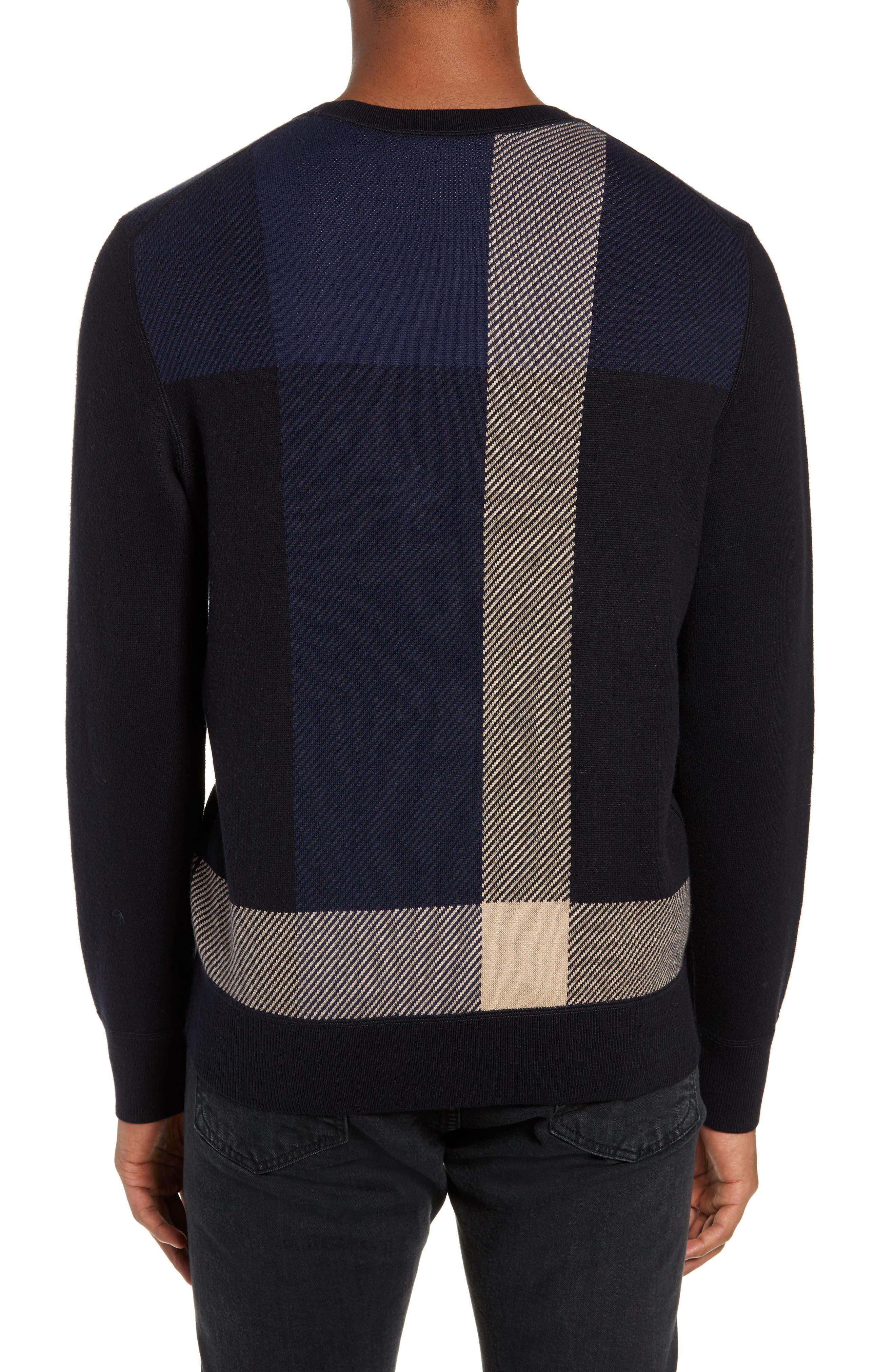 Marshall Crewneck Sweater,                             Alternate thumbnail 2, color,                             NAVY