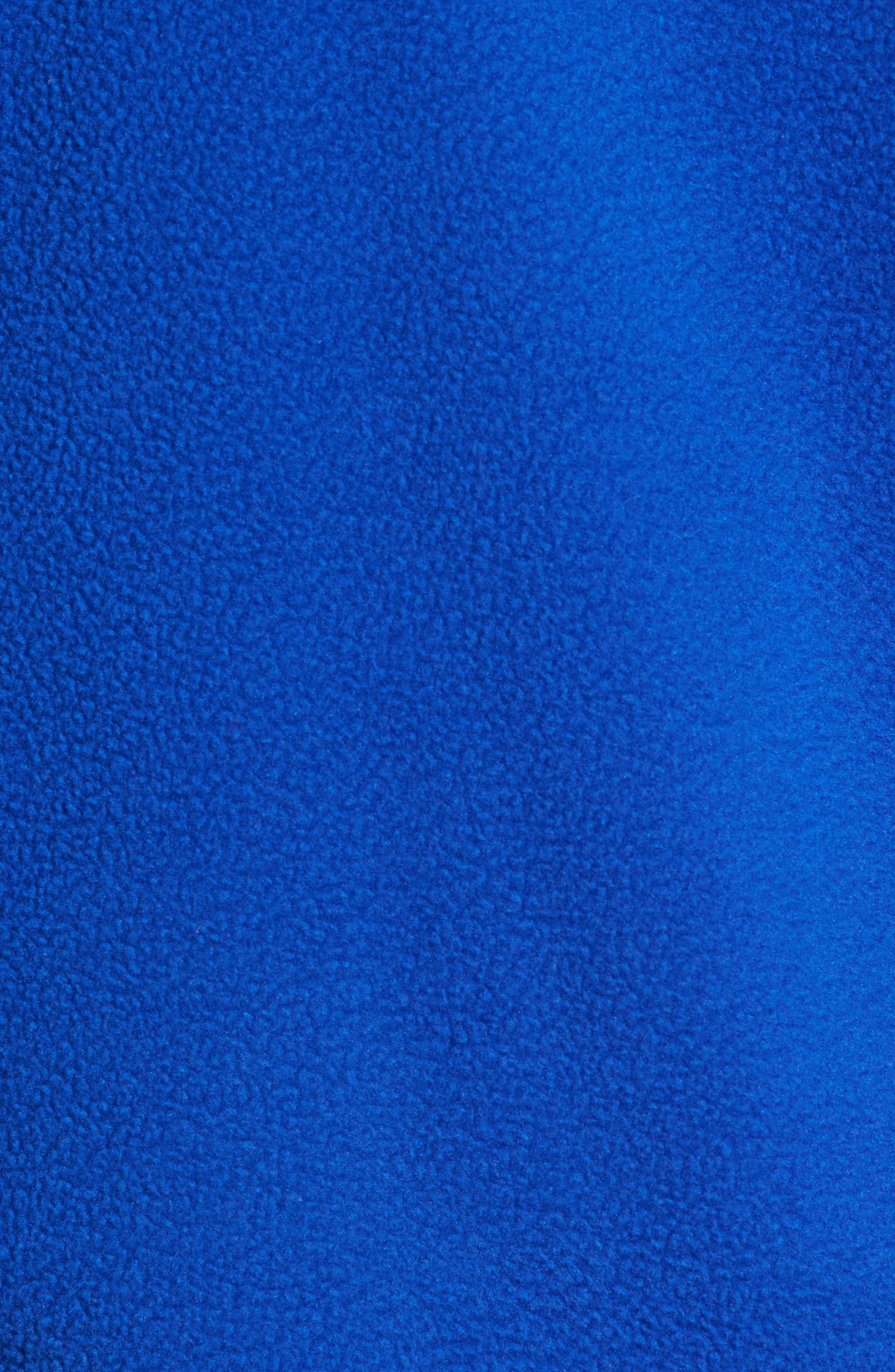 TJM Classics Half Zip Fleece Pullover,                             Alternate thumbnail 5, color,                             SURF THE WEB