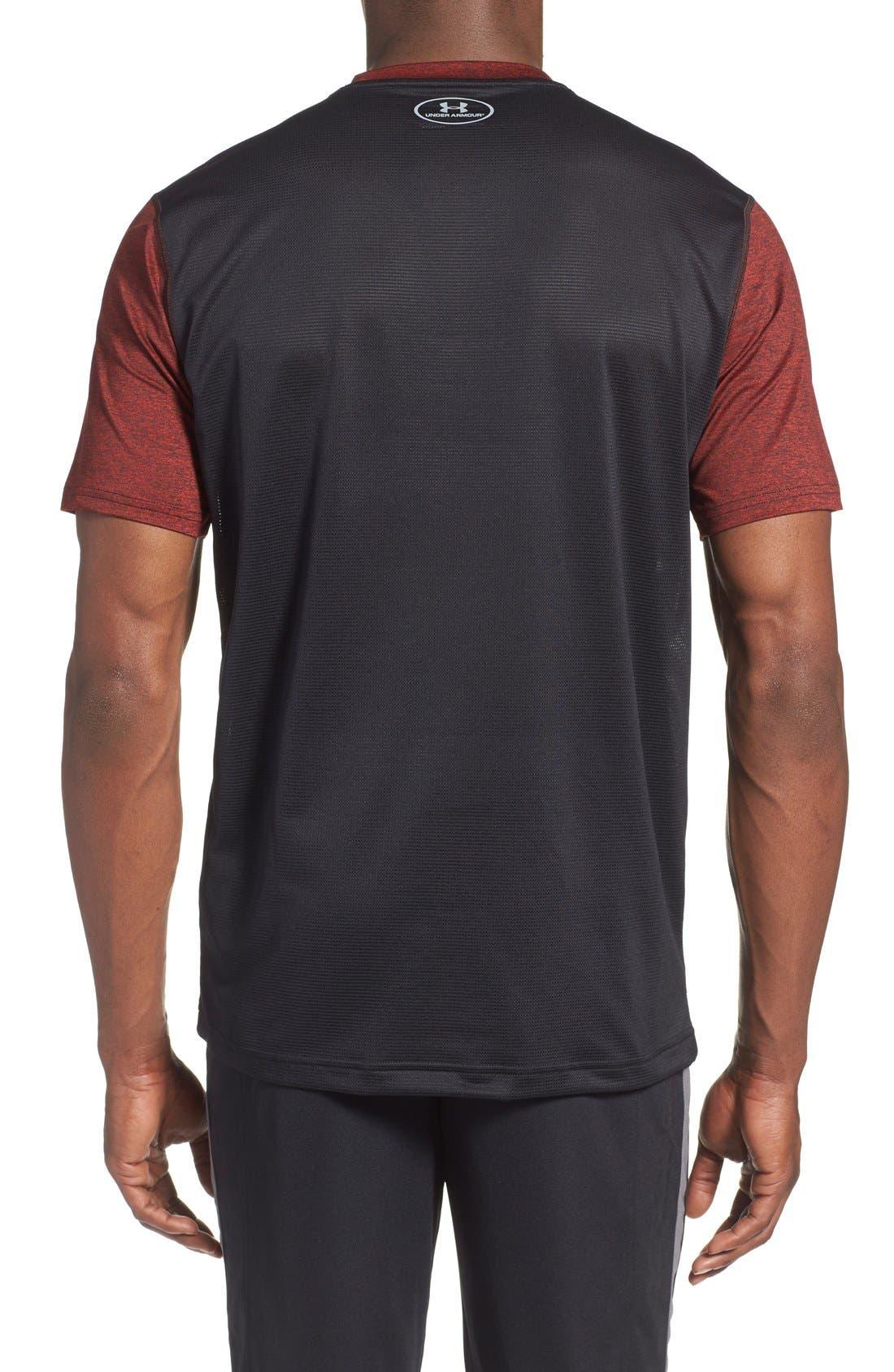 'Raid' HeatGear<sup>®</sup> Training T-Shirt,                             Alternate thumbnail 49, color,
