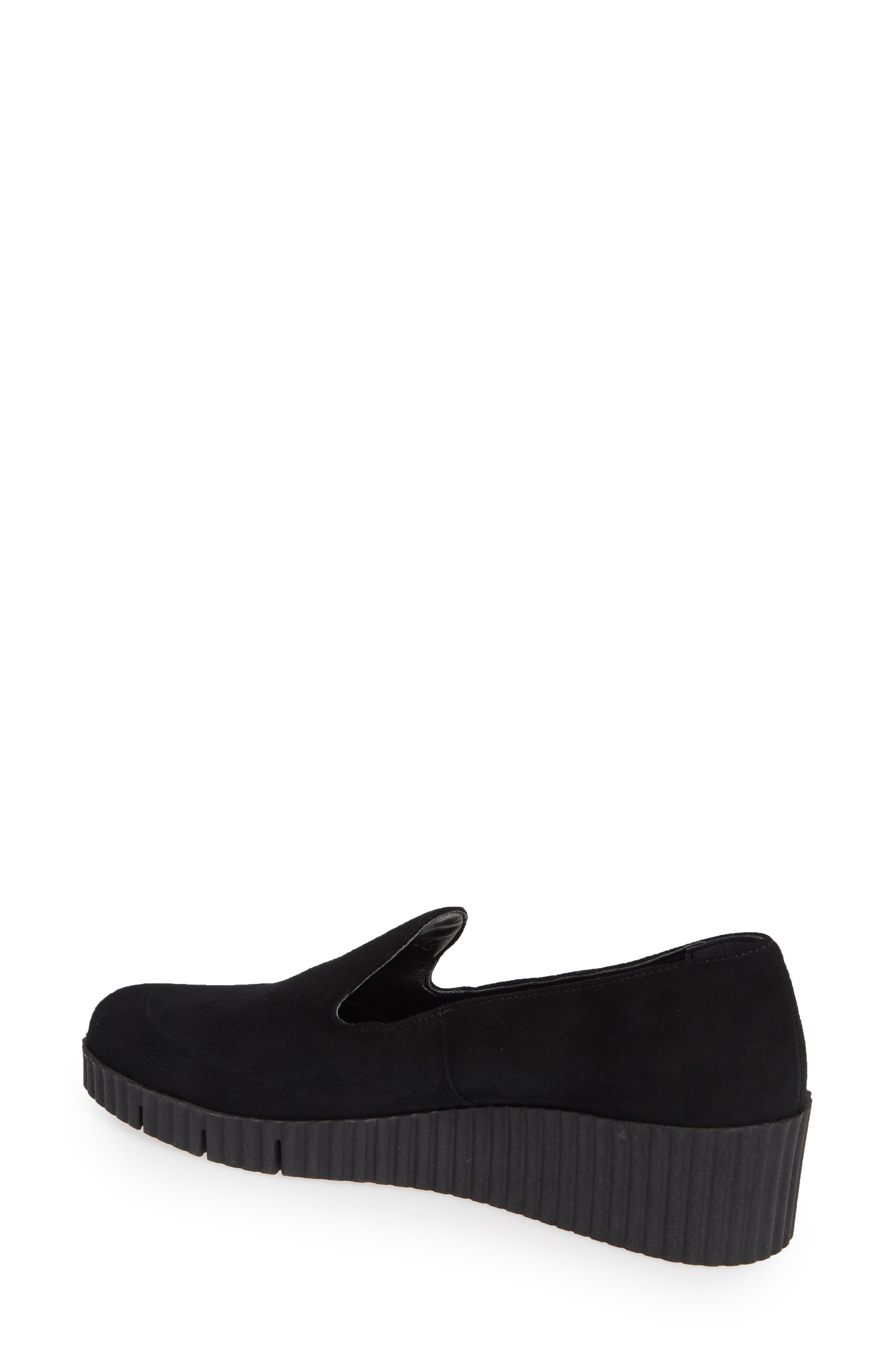 Fast Times Loafer,                             Alternate thumbnail 2, color,                             BLACK SUEDE