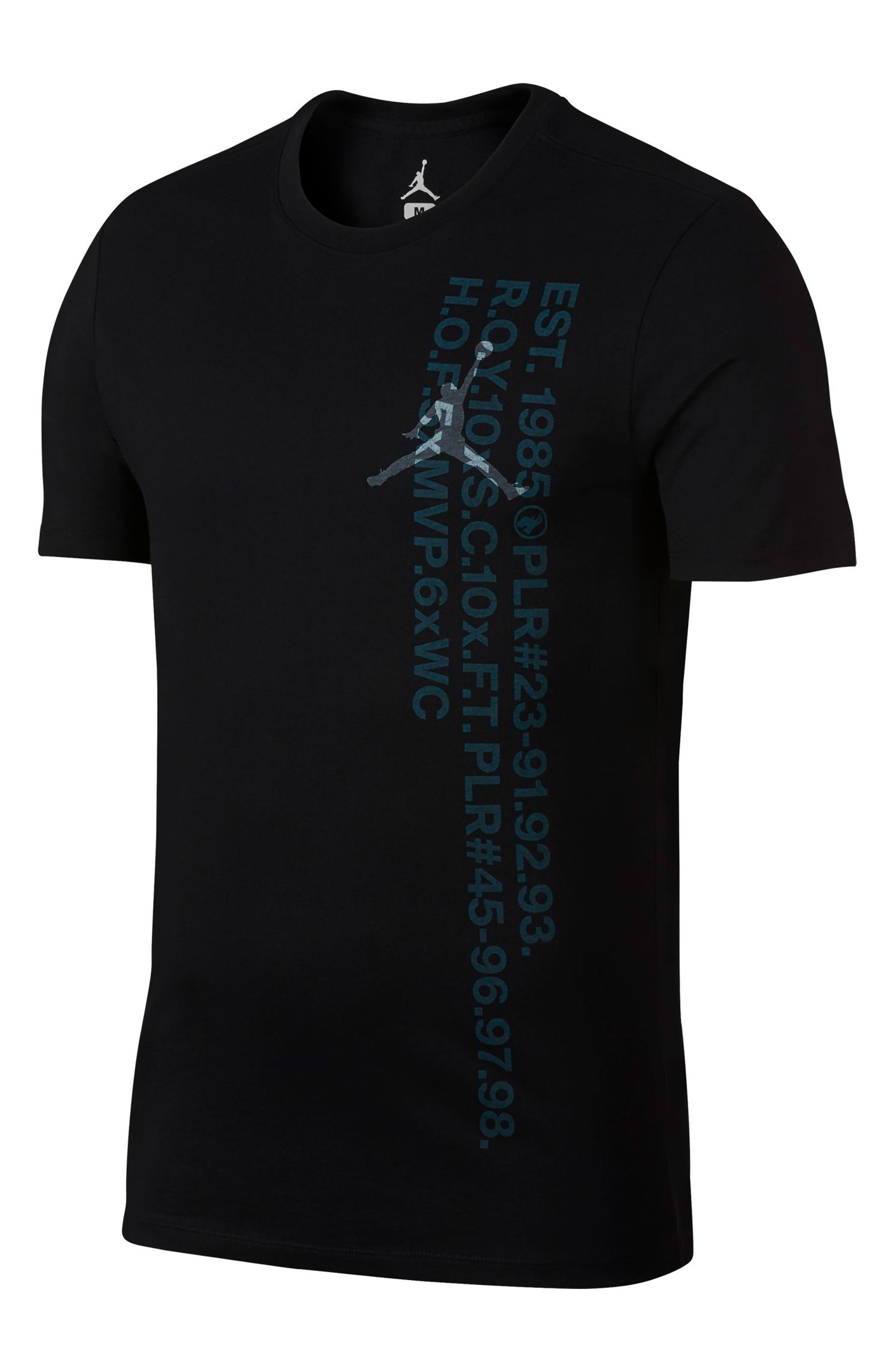 Jordan Sportswear Greatest Graphic T-Shirt, Black