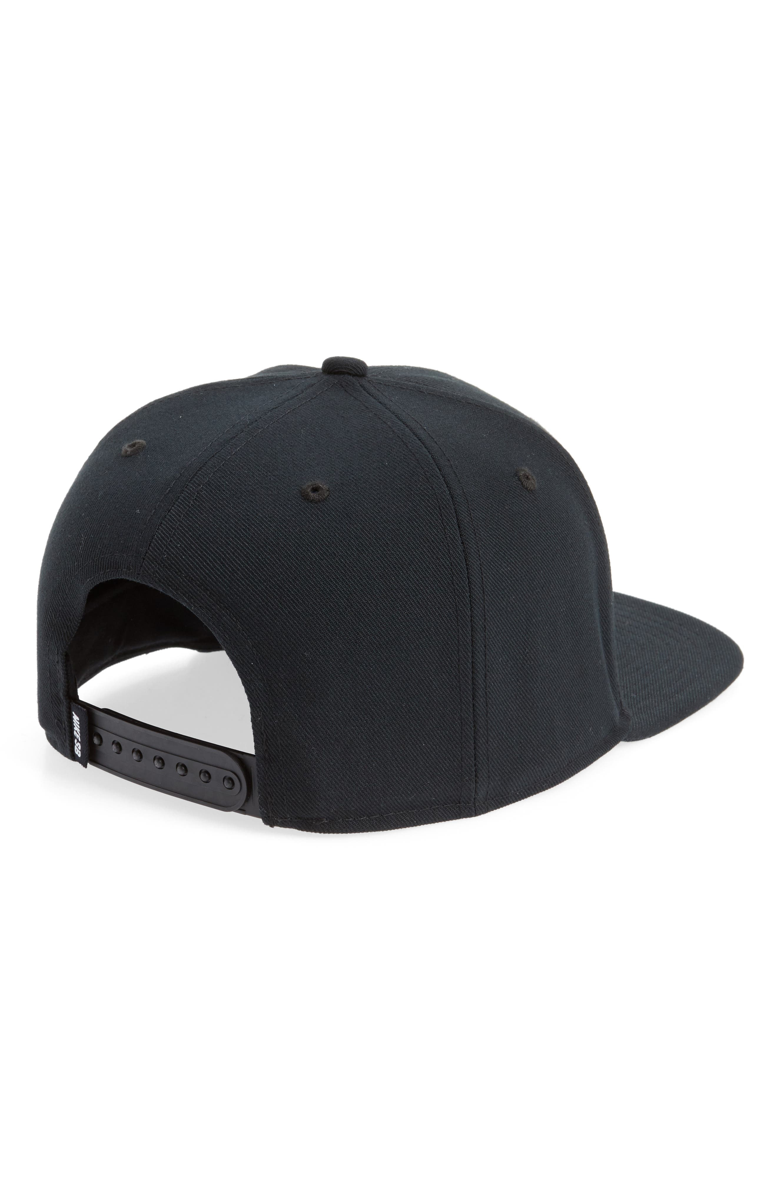 Nike Pro Snapback Baseball Cap,                             Alternate thumbnail 3, color,