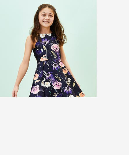 6a94aa7200fc3 Girls' special occasion clothing, shoes and accessories. Her Summer Best