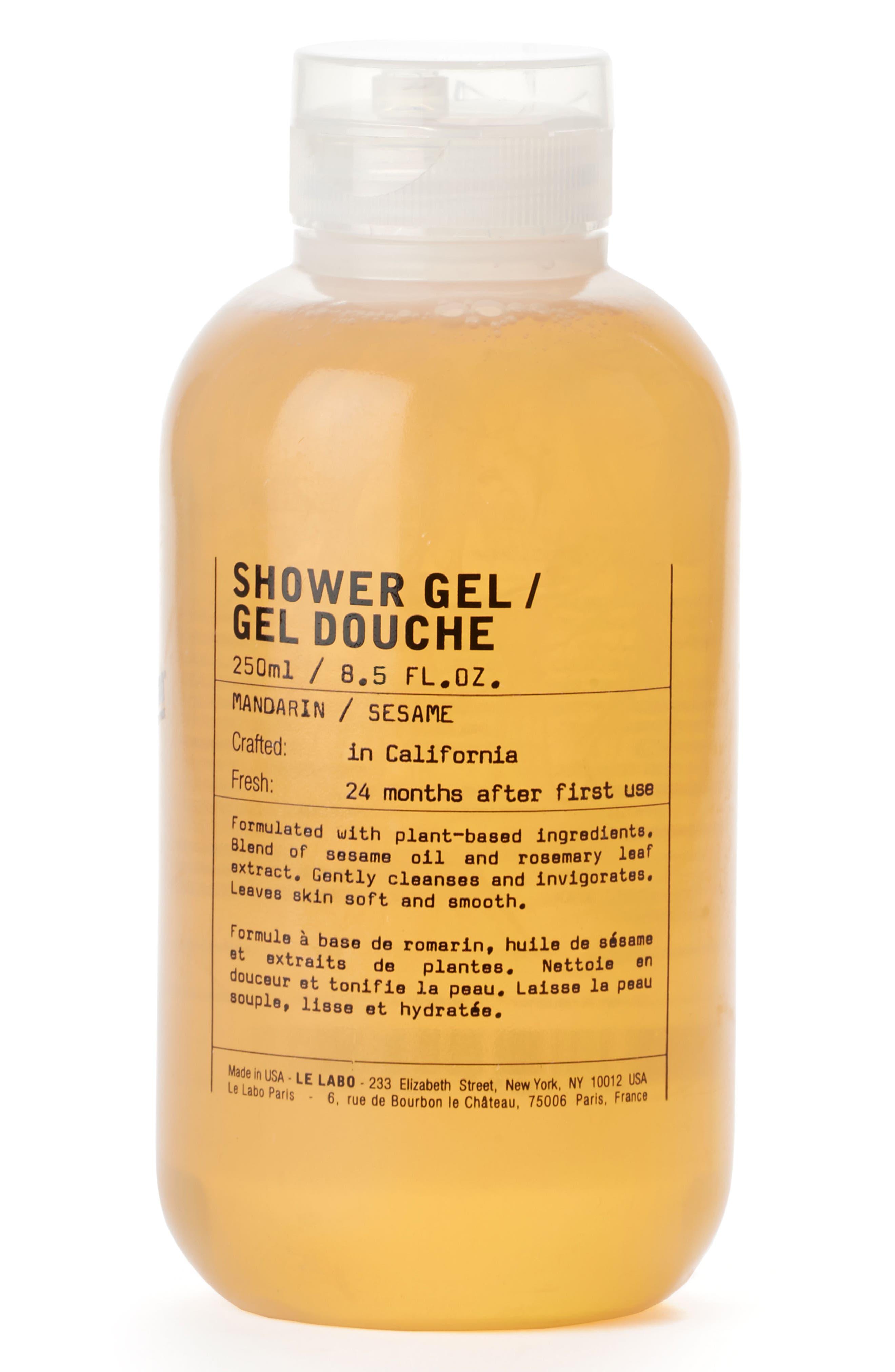 Shower Gel Mandarin,                             Main thumbnail 1, color,                             NO COLOR
