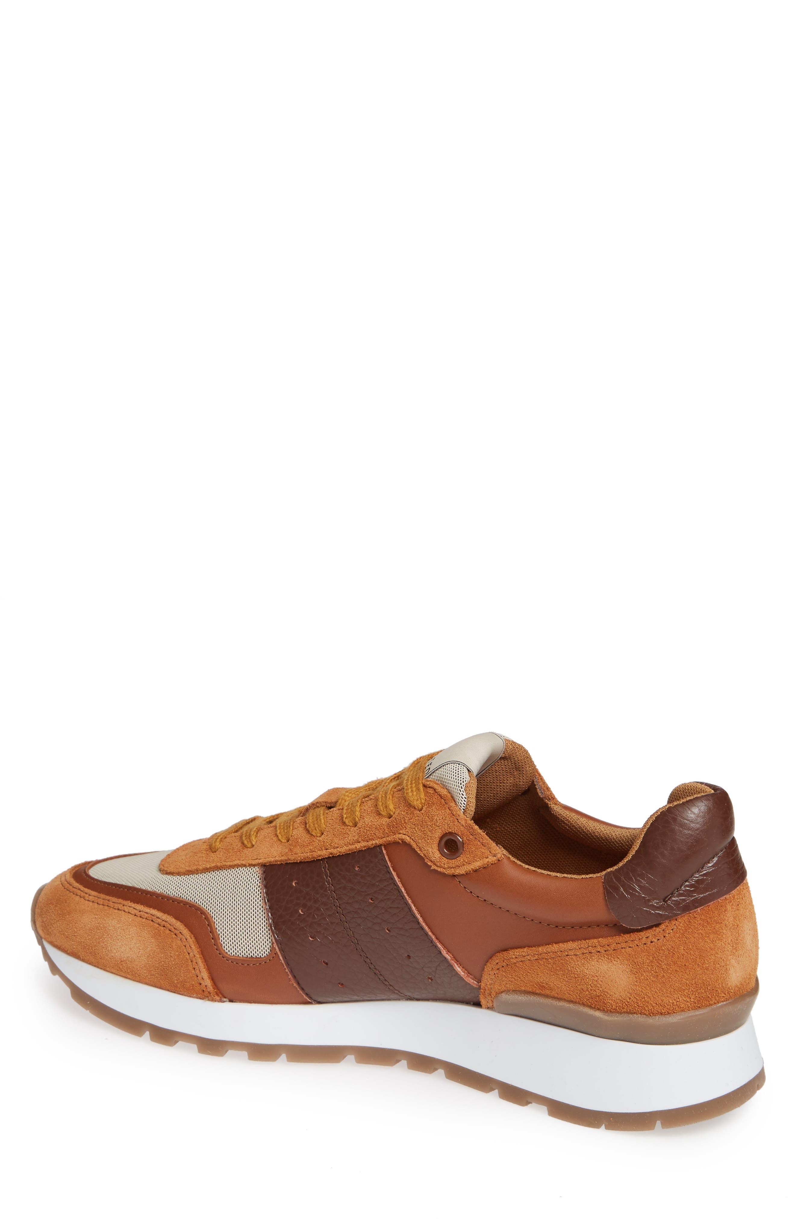 Frank Mix Sneaker,                             Alternate thumbnail 2, color,                             GLAZED GINGER