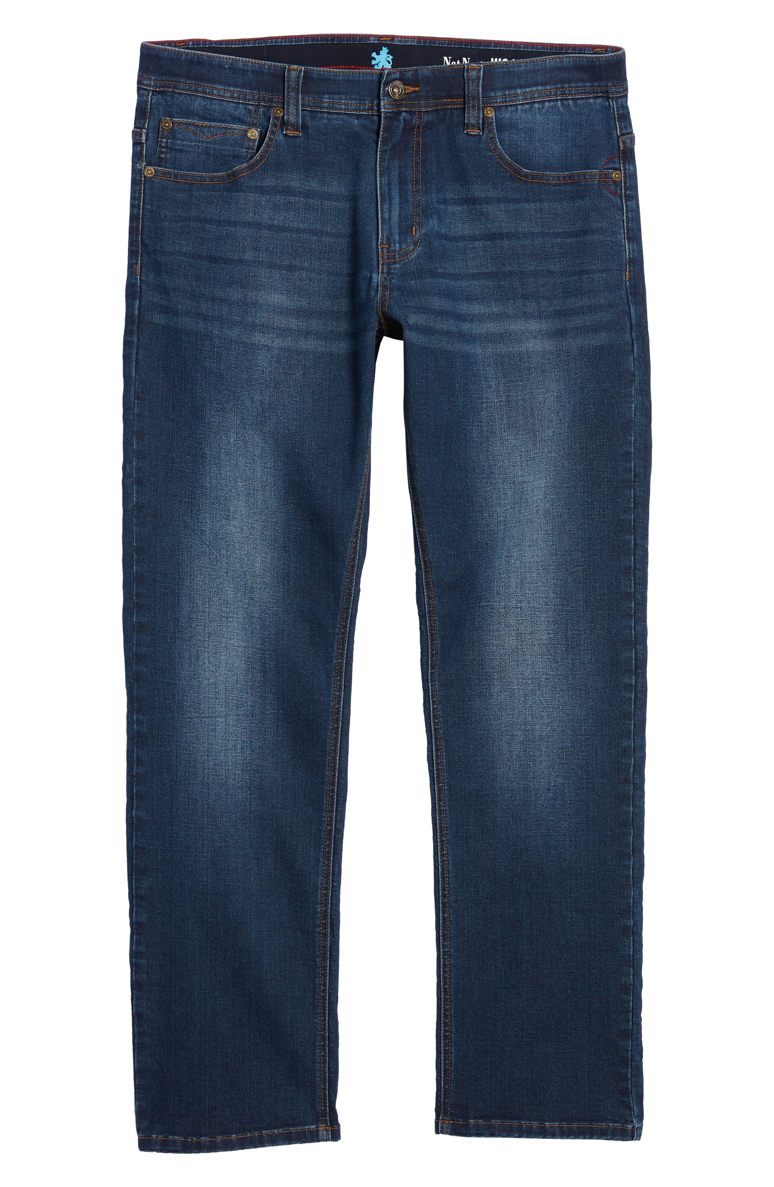 Maverick Stretch Slim Fit Jeans,                             Alternate thumbnail 6, color,                             400