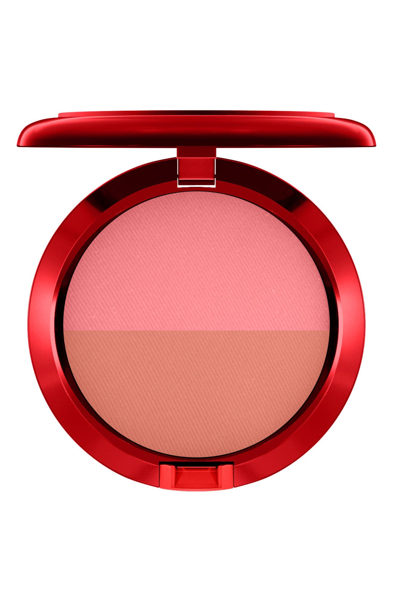 MAC Lucky Red Powder Blush Duo,                         Main,                         color, 650