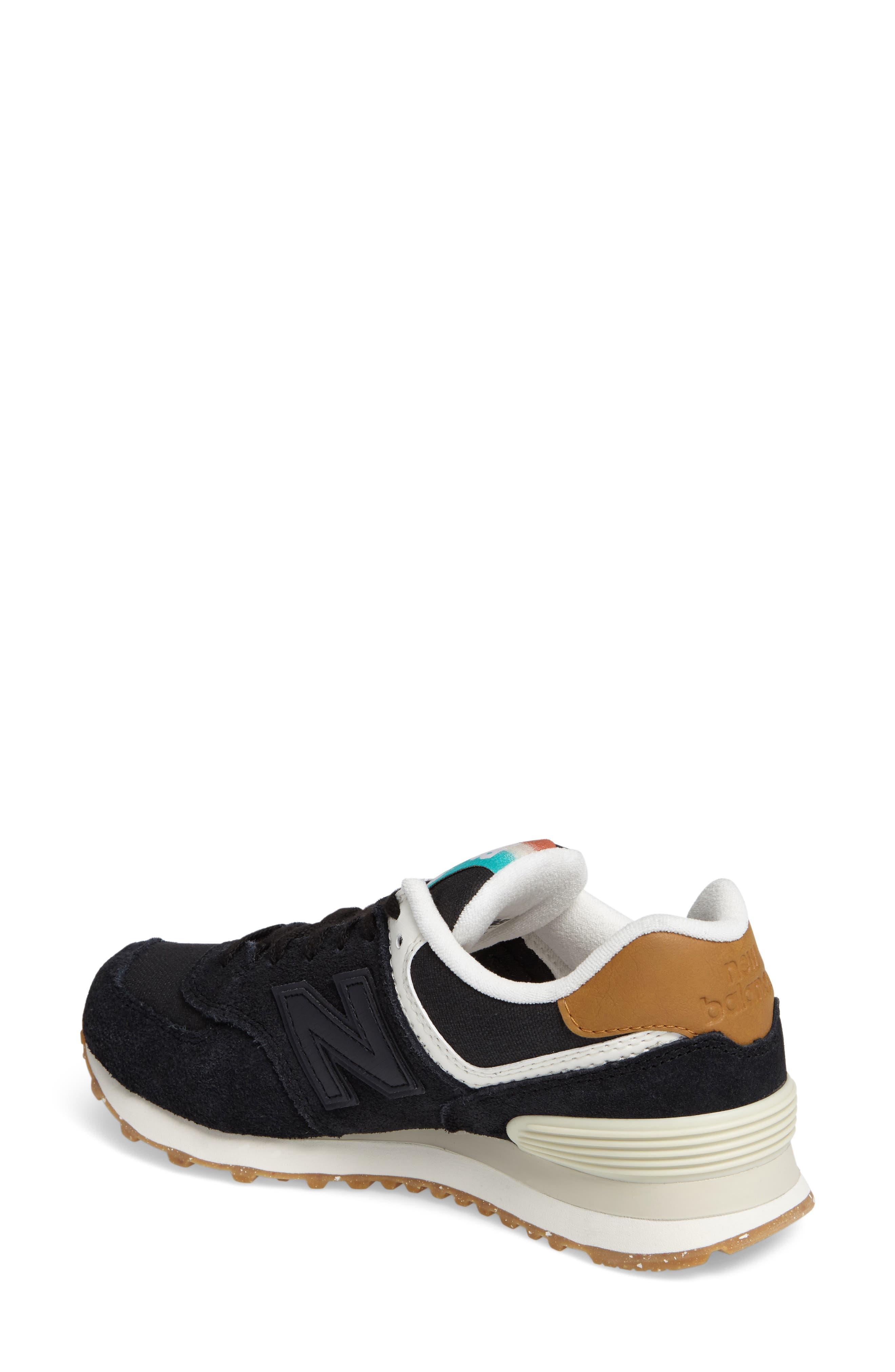574 Global Surf Sneaker,                             Alternate thumbnail 2, color,                             001
