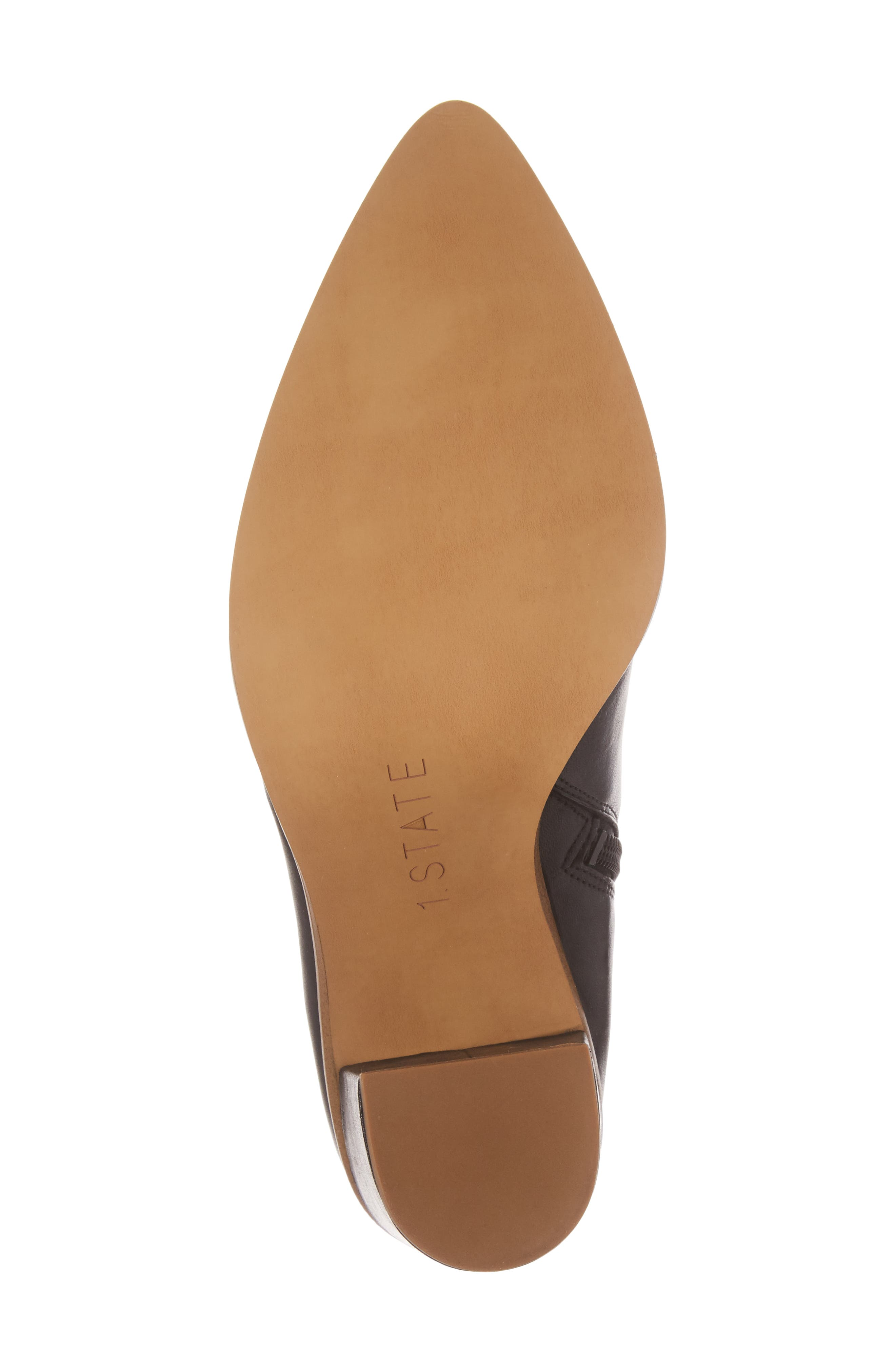 Paven Pointy Toe Bootie,                             Alternate thumbnail 6, color,                             001