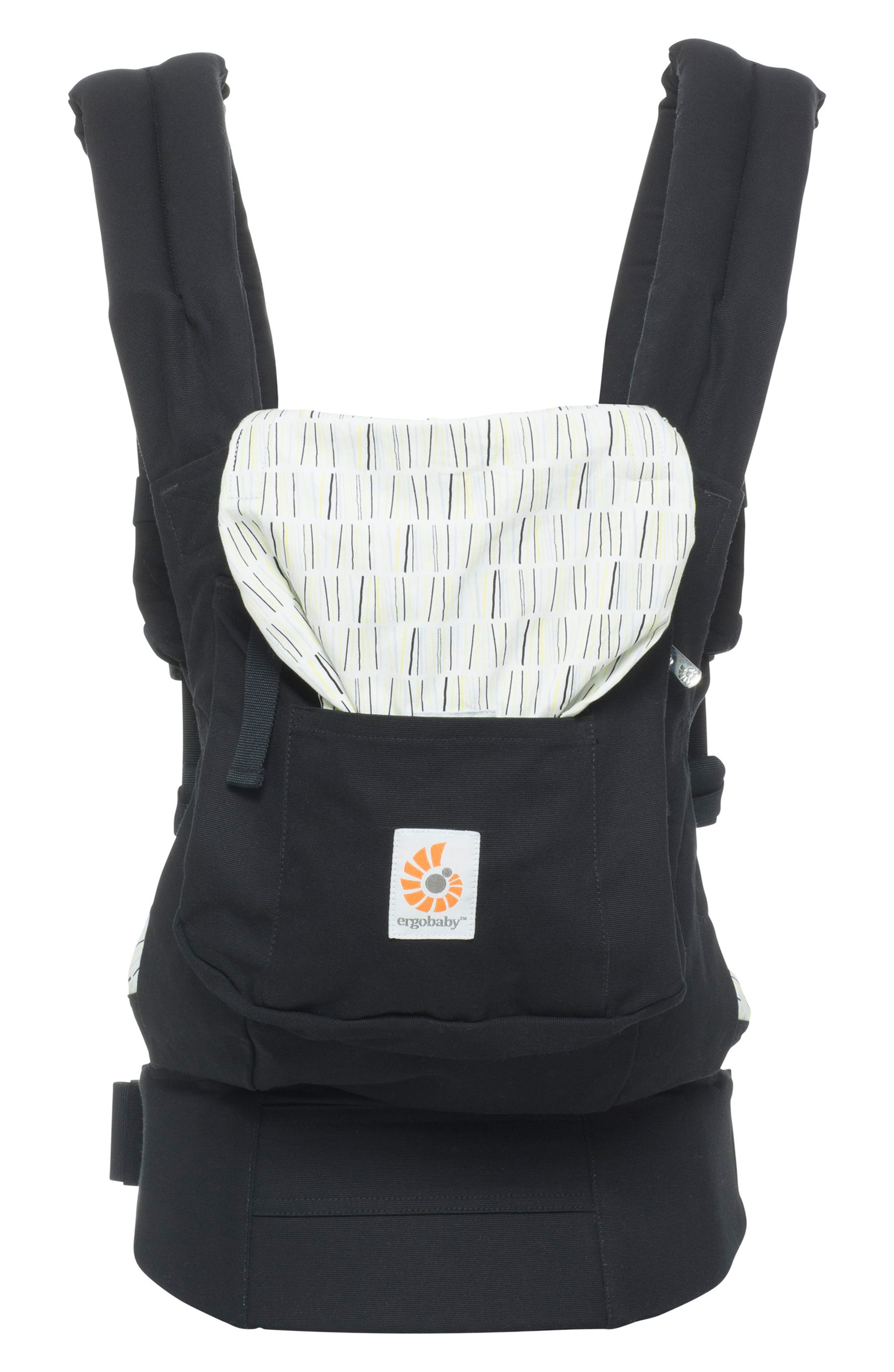 Original Multiposition Baby Carrier,                         Main,                         color, DOWNTOWN BLACK
