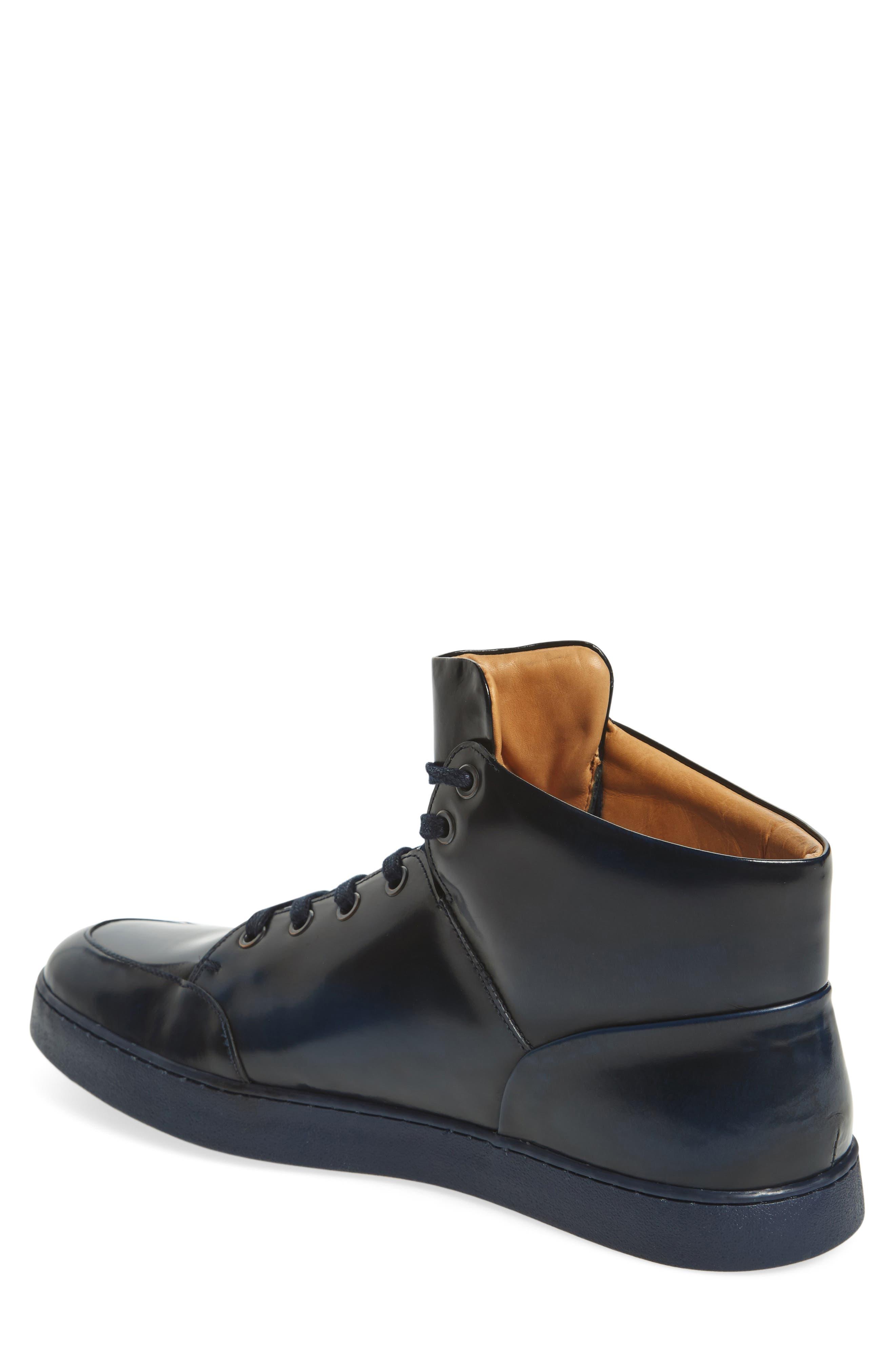 Gidean High Top Sneaker,                             Alternate thumbnail 4, color,