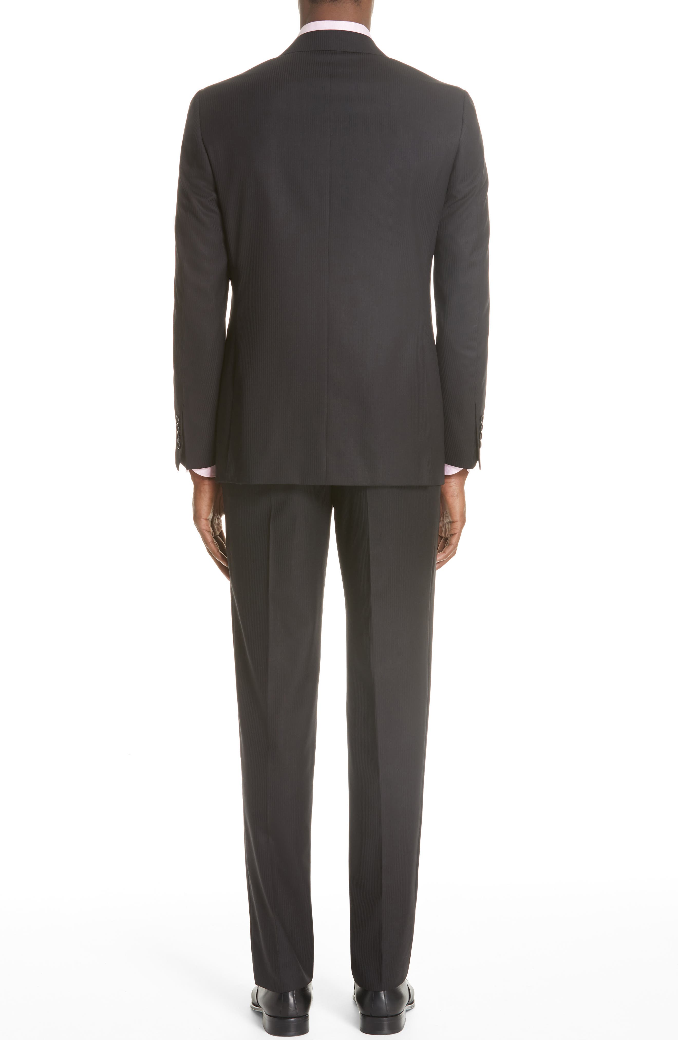 Siena Classic Fit Stripe Wool Suit,                             Alternate thumbnail 2, color,