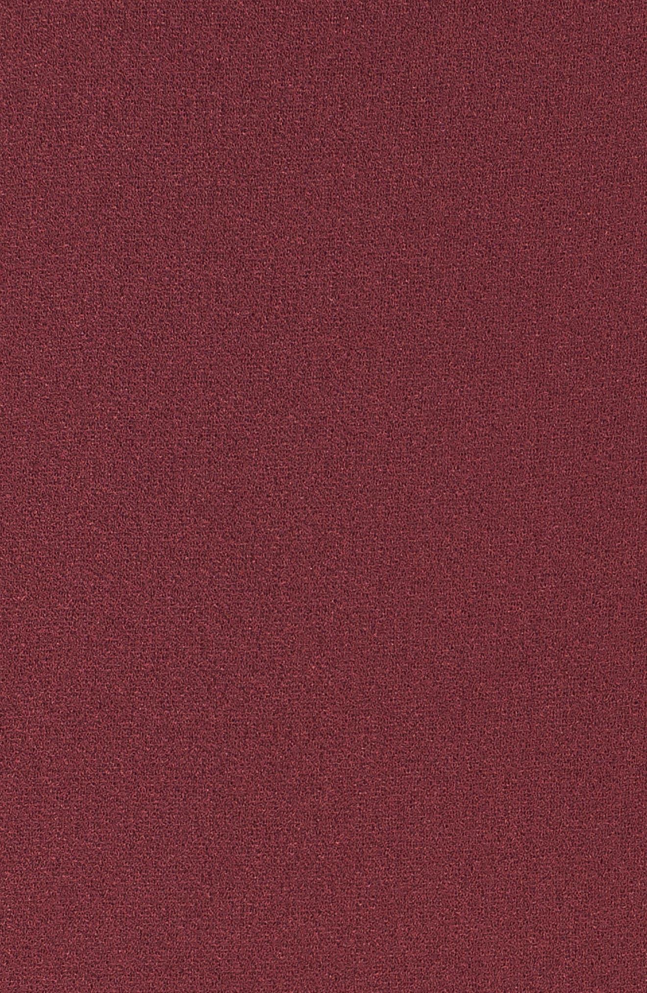 CHARLES HENRY, Tulip Sleeve Shift, Alternate thumbnail 6, color, 930
